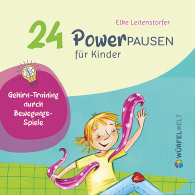 24 Power-Pausen für Kinder – Einlegeset für die Würfelwelt