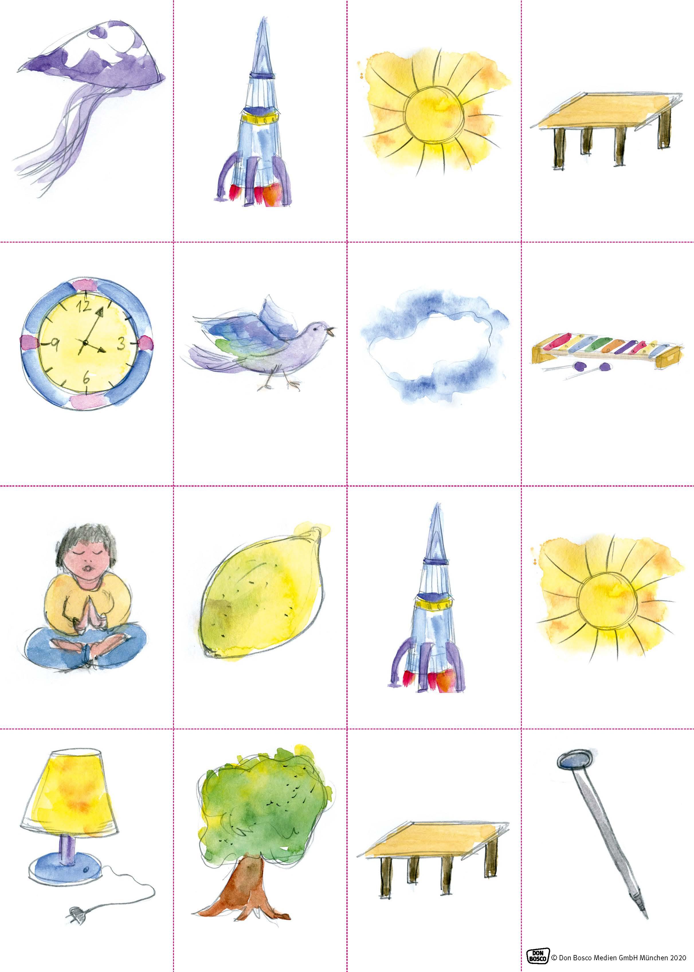 Innenansicht zu Buchstaben lernen mit der Erzählschiene