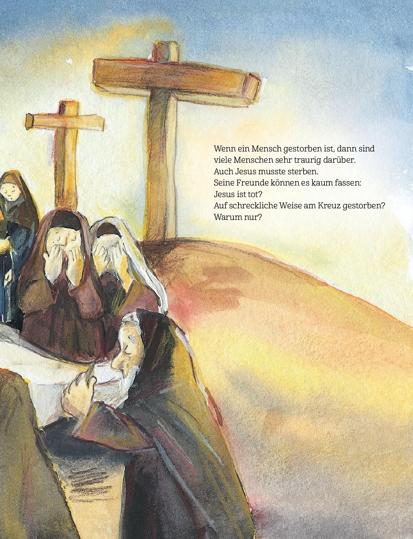 Innenansicht zu Jesus ist auferstanden