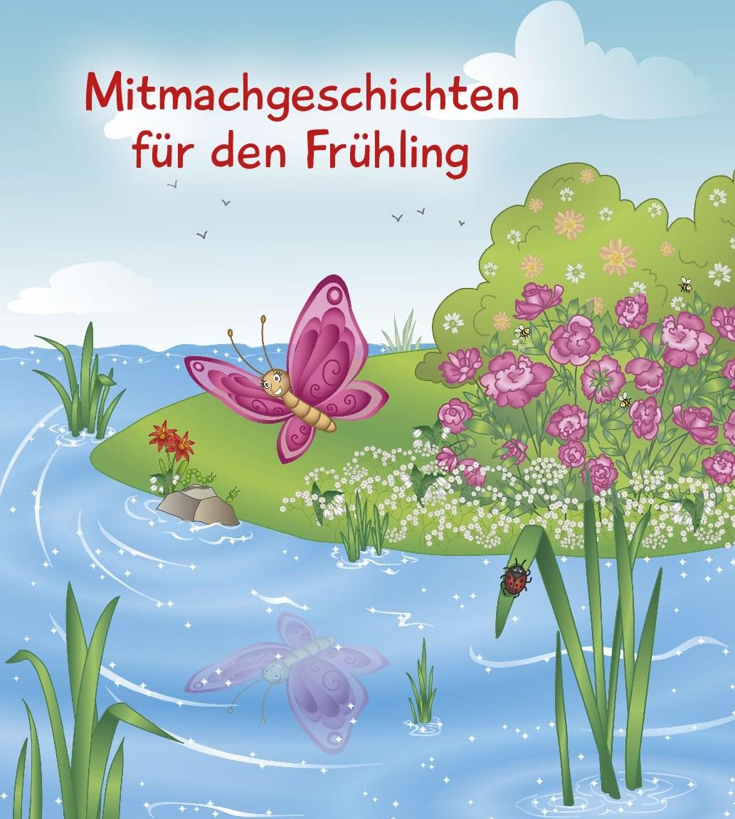 Innenansicht zu 5 Minuten Mitmachgeschichten für Frühling und Sommer