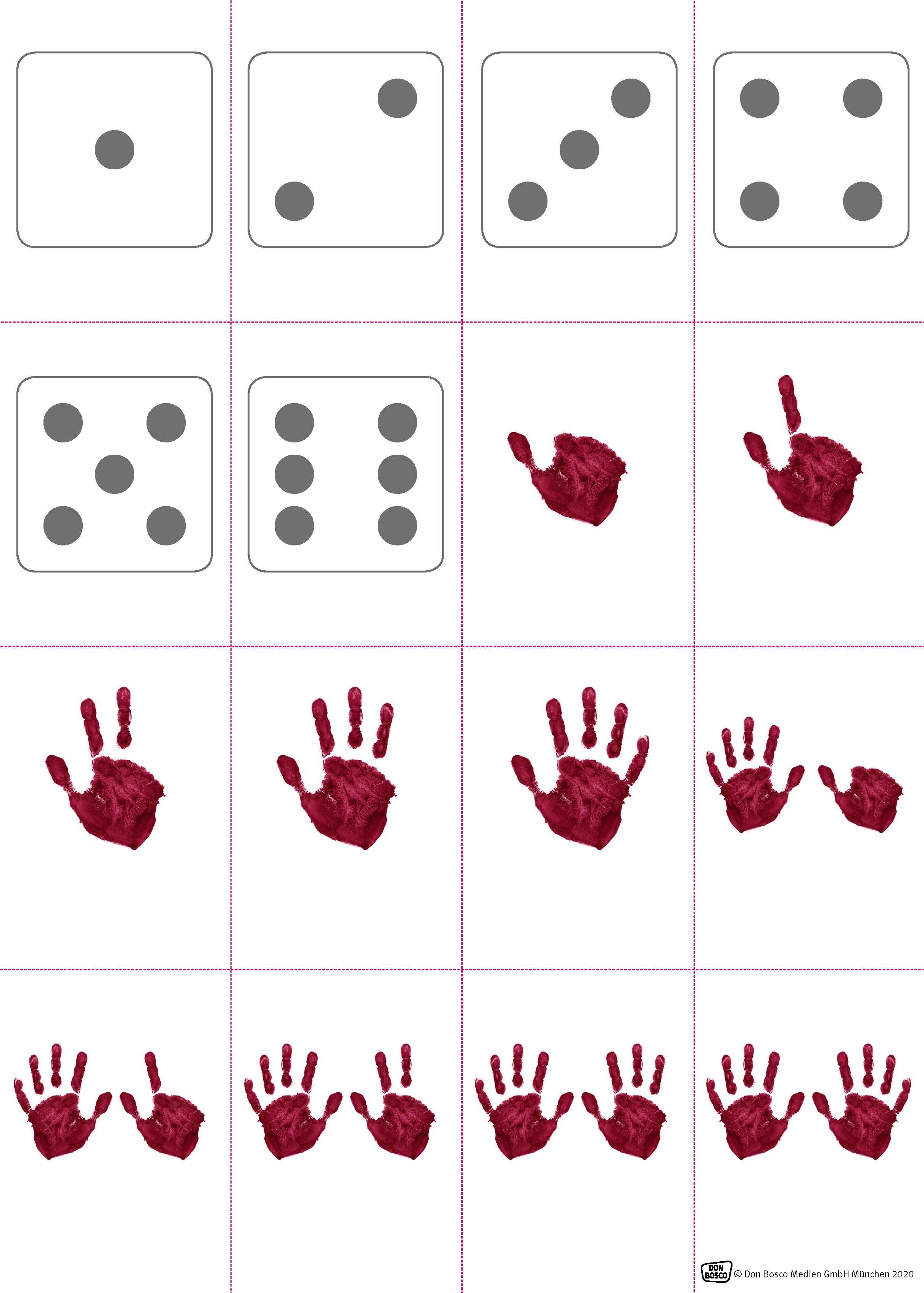 Innenansicht zu Zahlen lernen mit der Erzählschiene