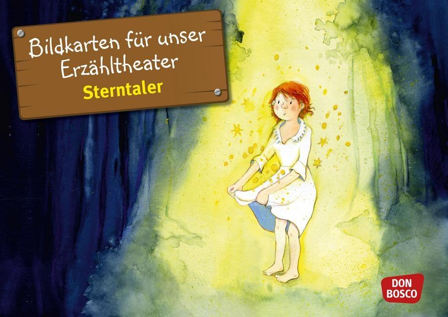 Innenansicht zu Märchen - Jubiläums-Paket. Kamishibai-Bildkartensets.