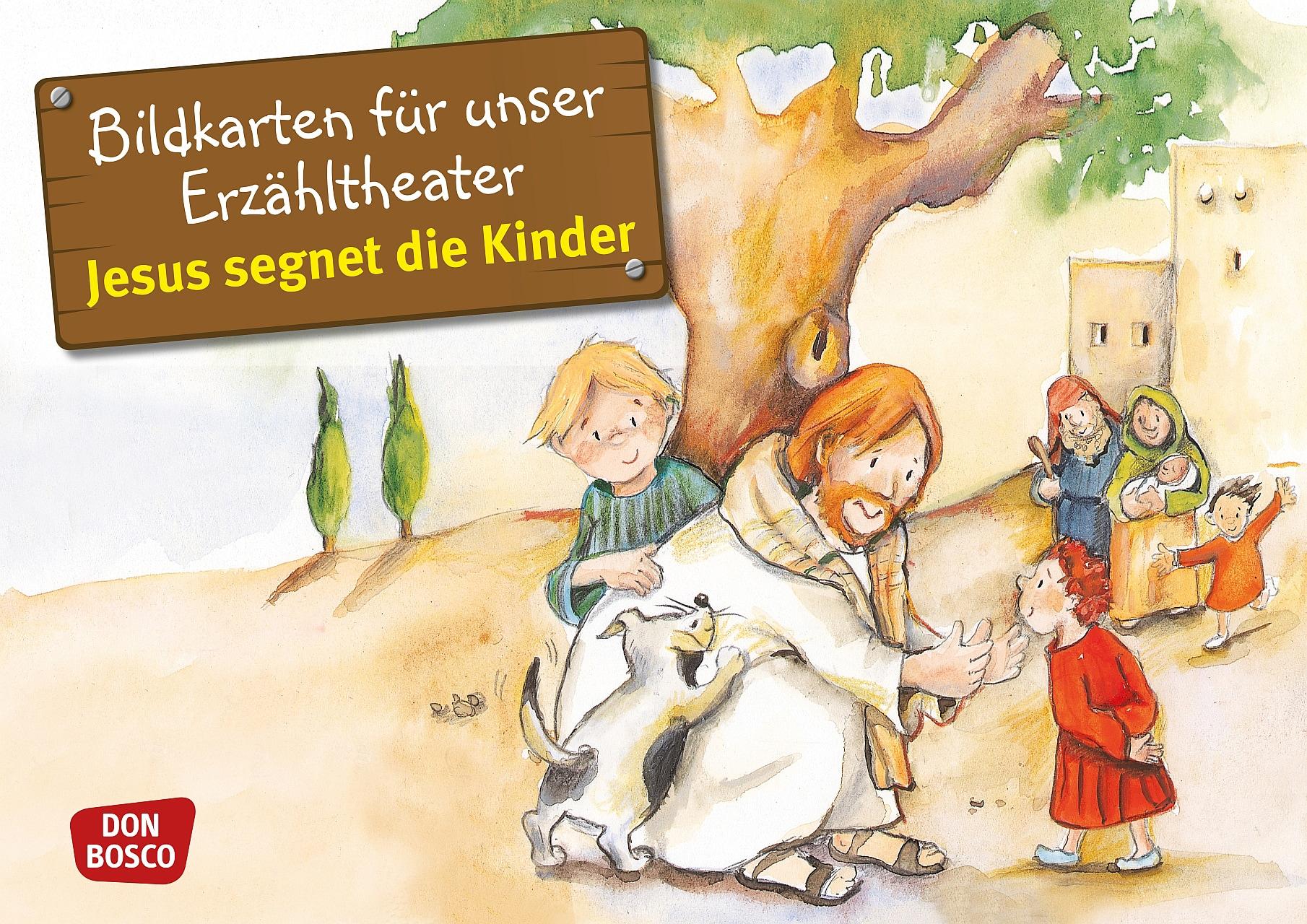 Innenansicht zu Bibelgeschichten - Jubiläums-Paket. Kamishibai-Bildkartensets.
