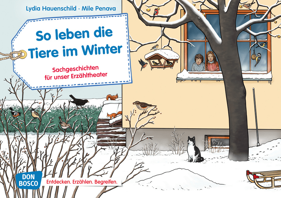 Innenansicht zu Sachgeschichten - Jubiläums-Paket. Kamishibai-Bildkartensets.