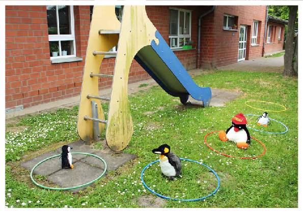 Innenansicht zu Spielen und lernen mit Abstand – Praxisideen für drinnen und draußen