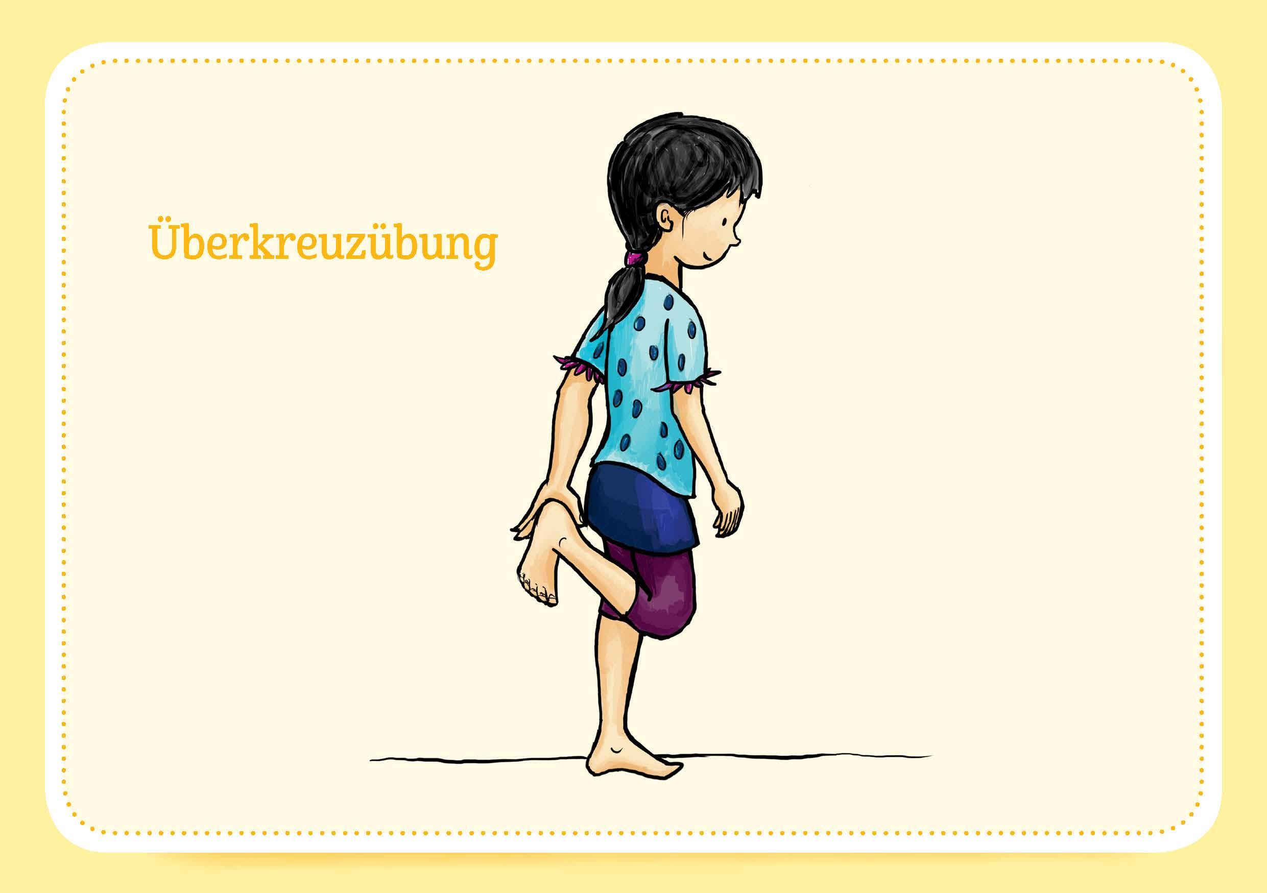 Innenansicht zu Achtsamkeit und Körperwahrnehmung. 30 Bildkarten für Kinder