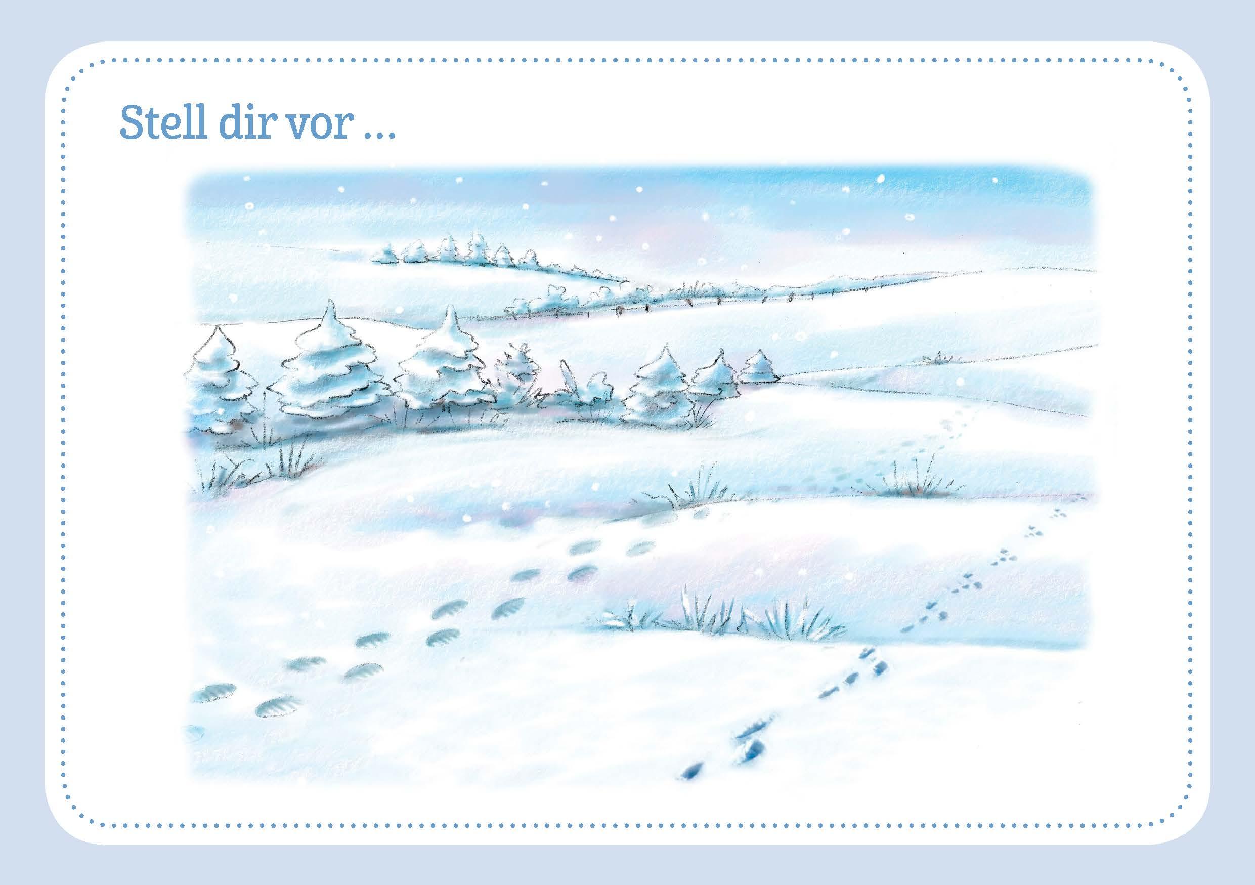 Innenansicht zu 30 Fantasiereisen für Frühling, Sommer, Herbst und Winter.