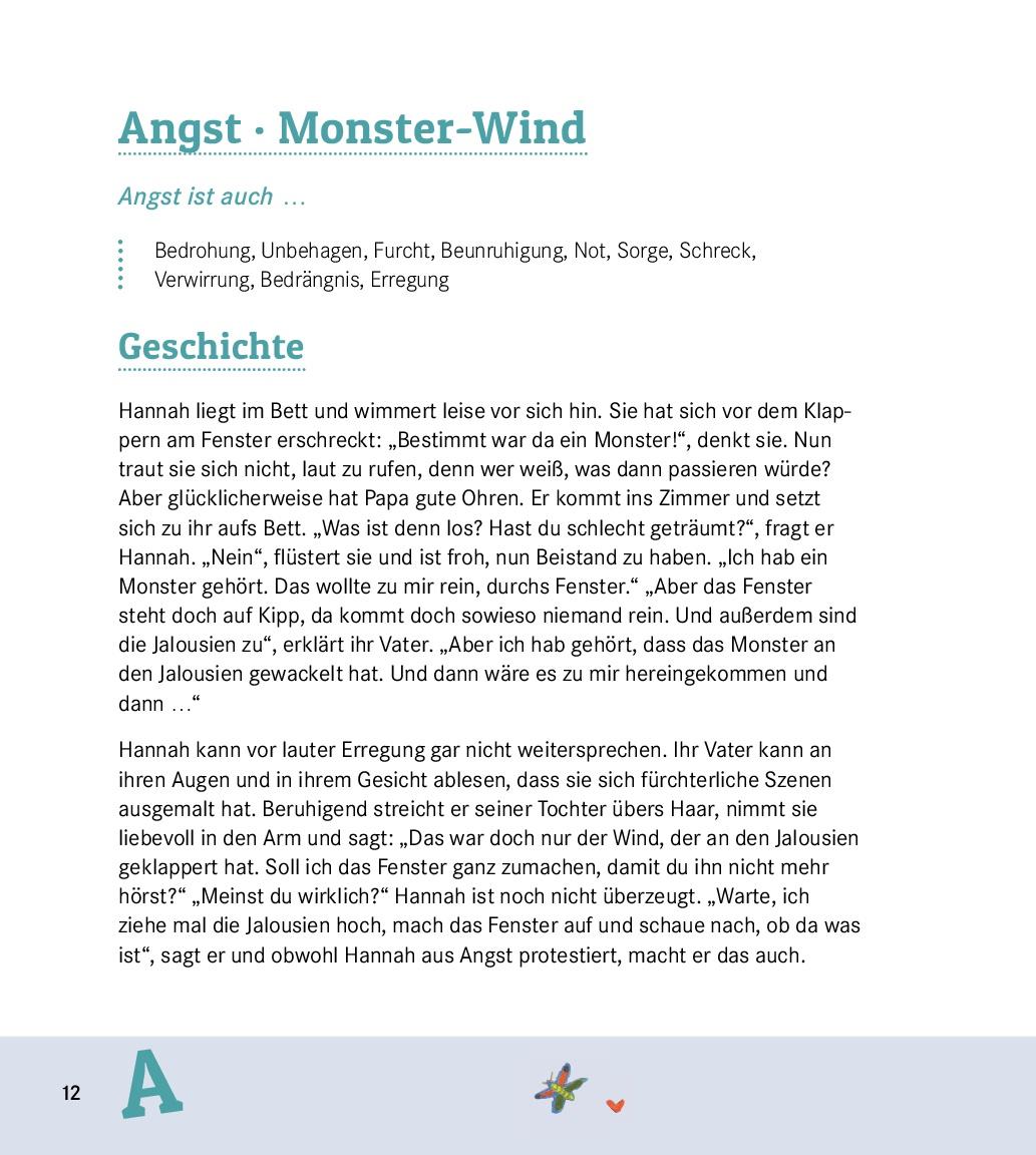 Innenansicht zu Das Gefühle-Mitmachgeschichten-Buch für Kinder