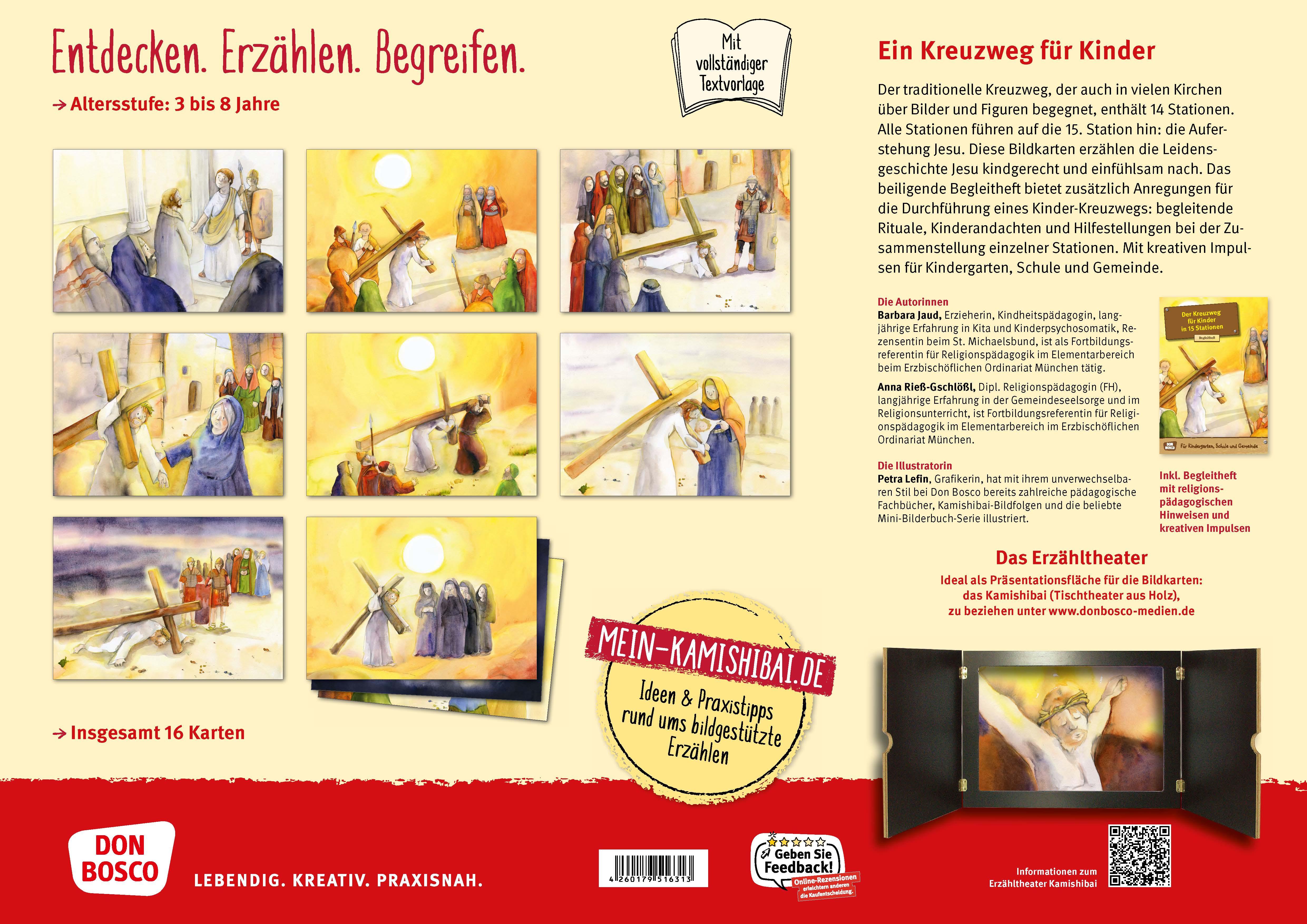 Innenansicht zu Der Kreuzweg für Kinder in 15 Stationen. eKami.