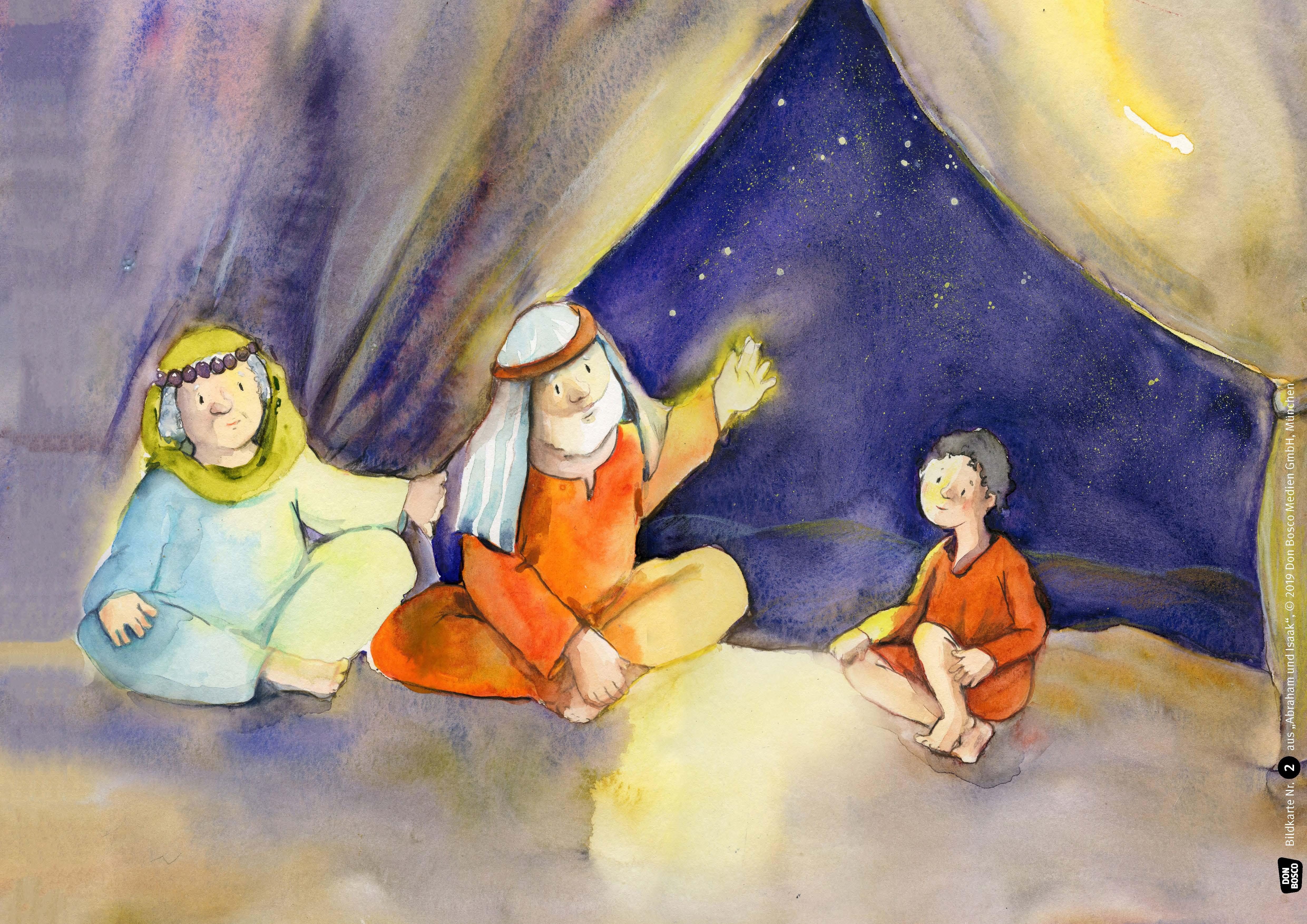 Innenansicht zu Abraham und Isaak. eKami.