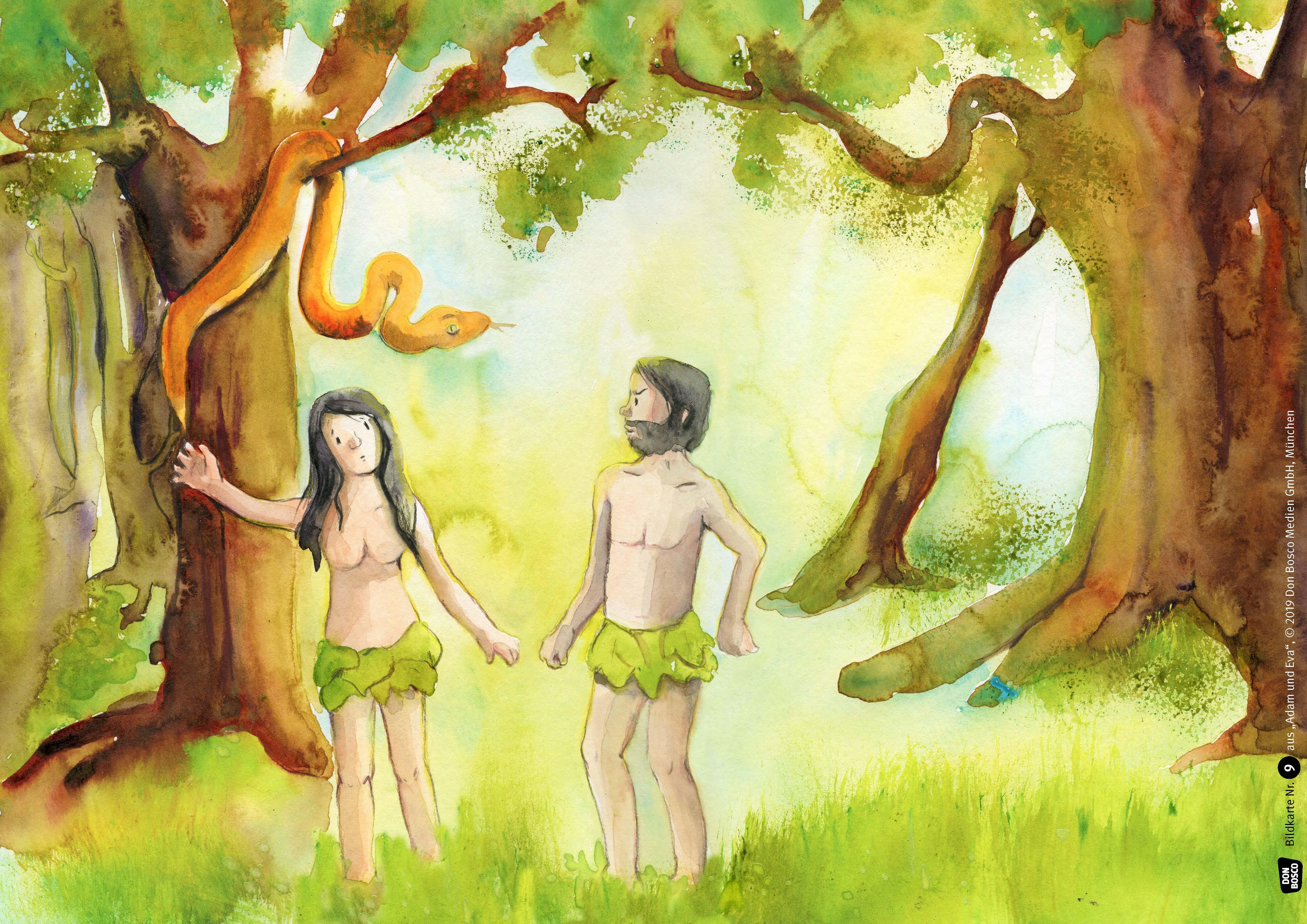 Innenansicht zu Adam und Eva. eKami.