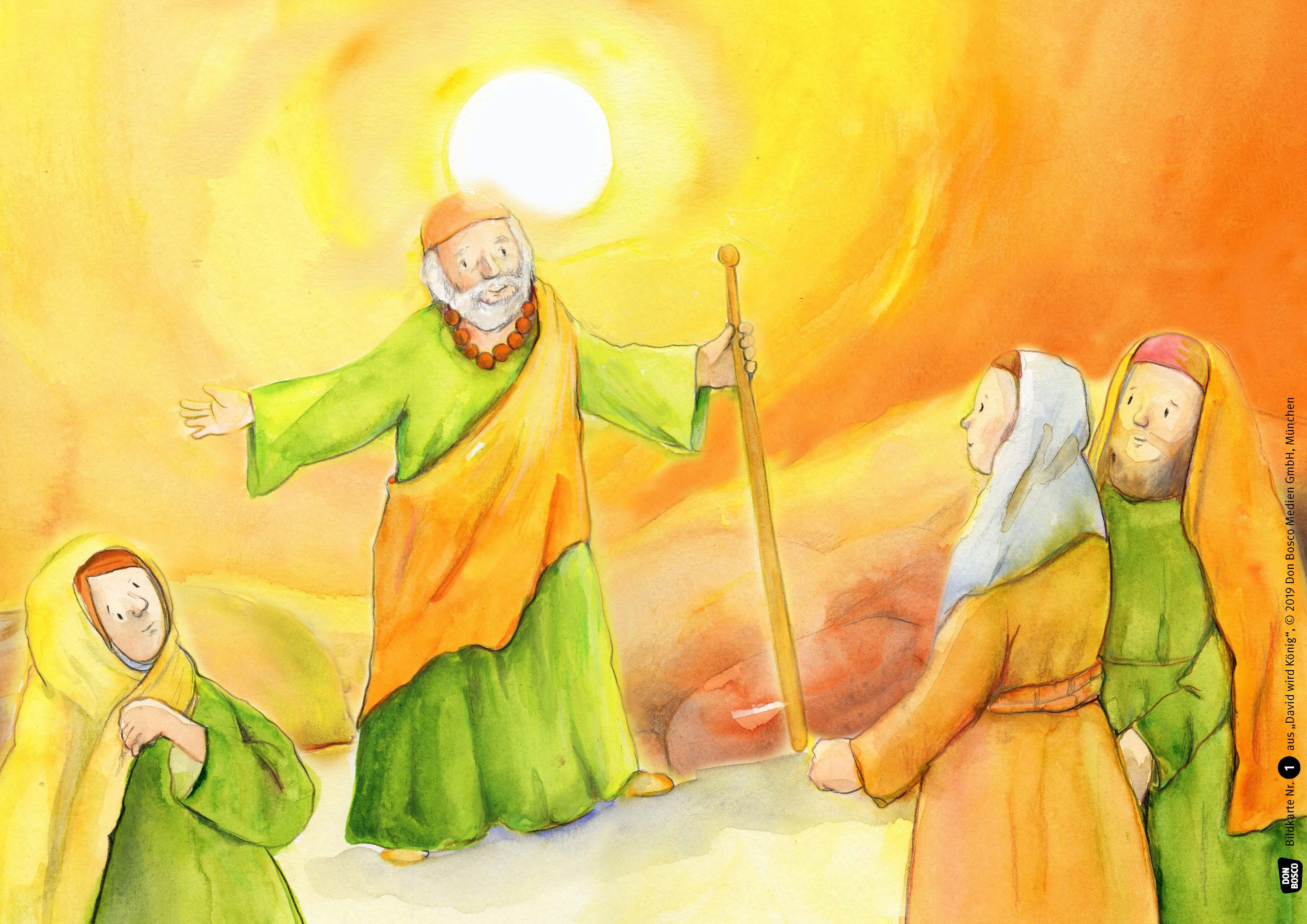 Innenansicht zu David wird König. eKami.