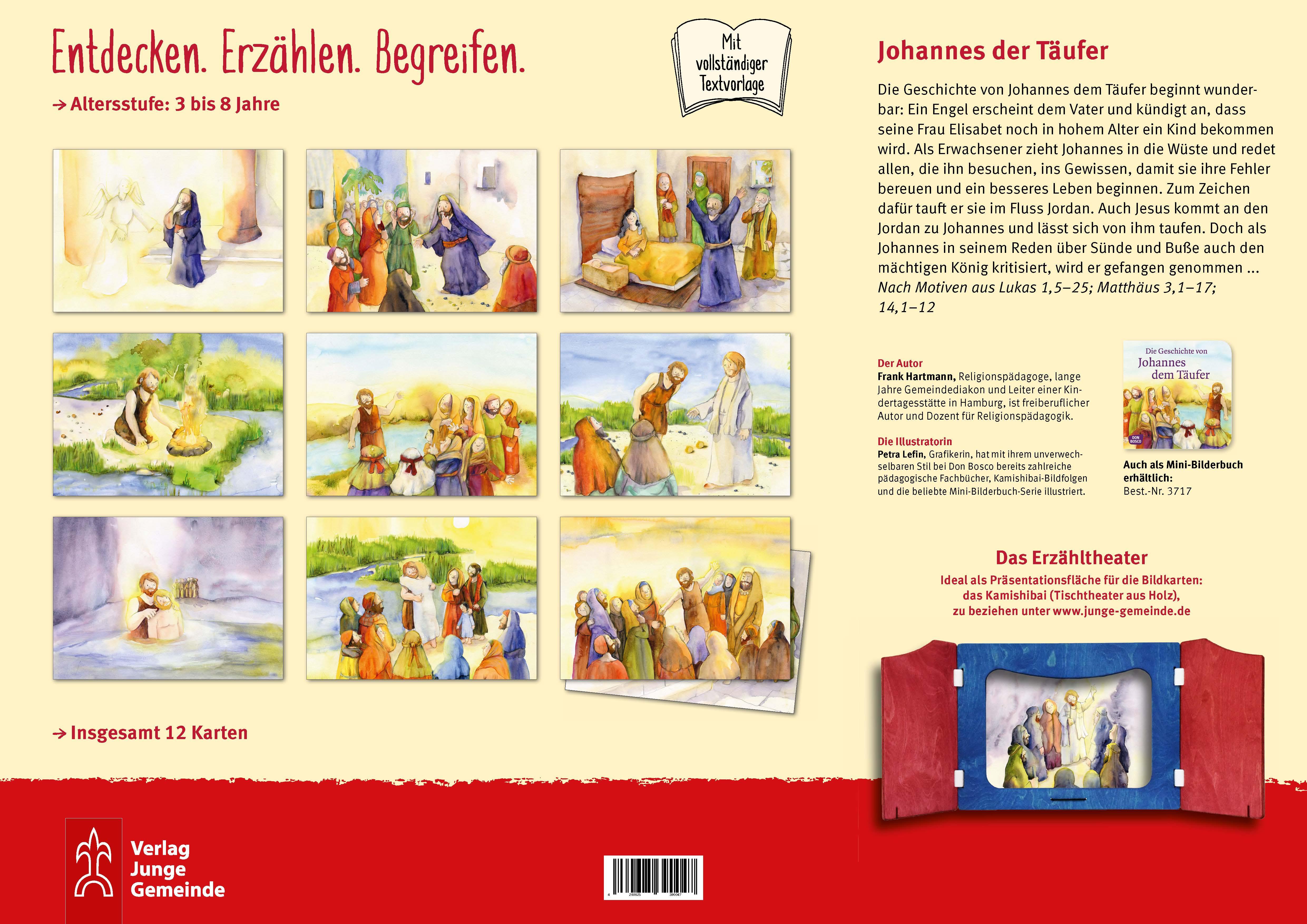 Innenansicht zu Die Geschichte von Johannes dem Täufer. eKami.
