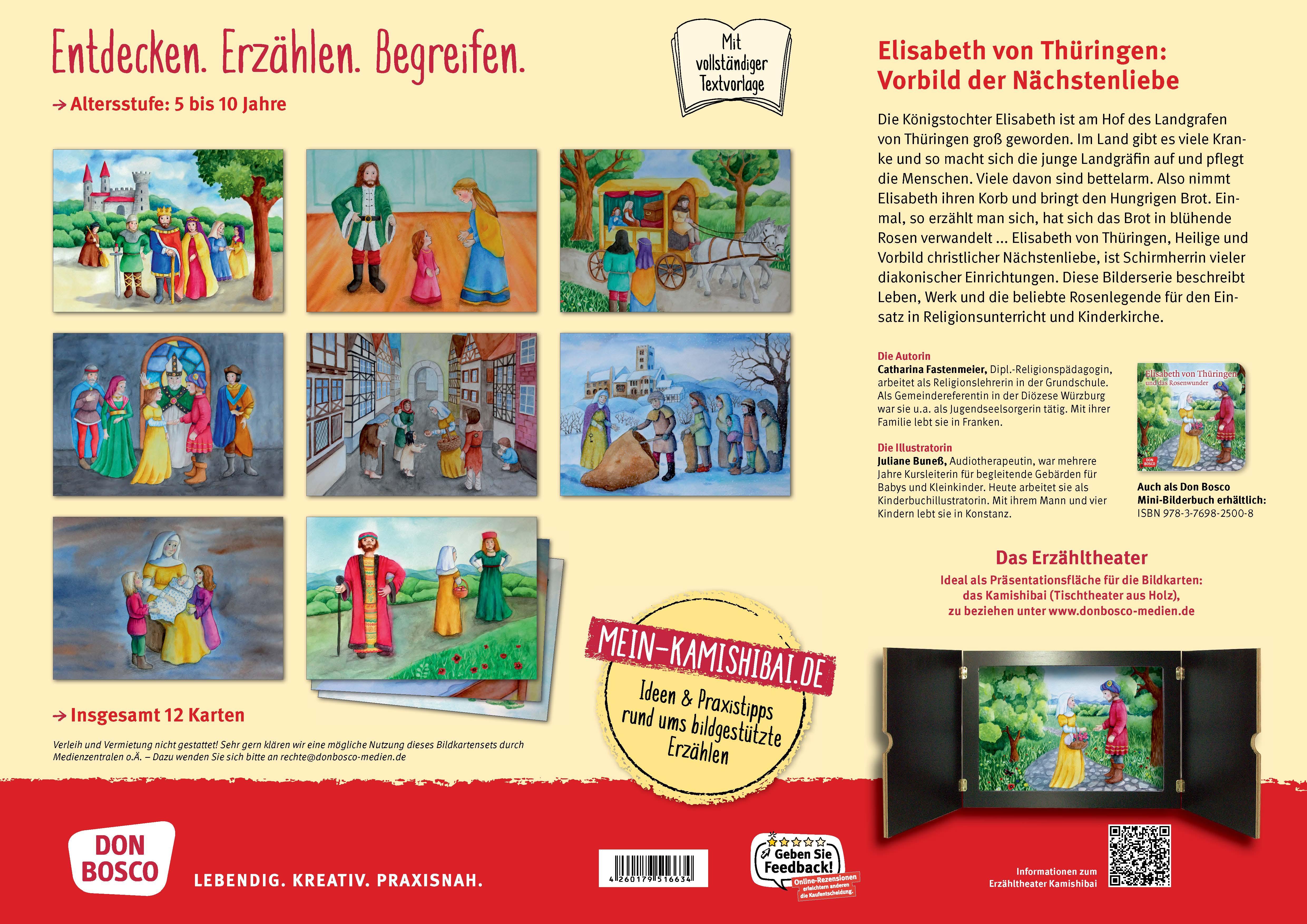 Innenansicht zu Elisabeth von Thüringen und das Rosenwunder. eKami.
