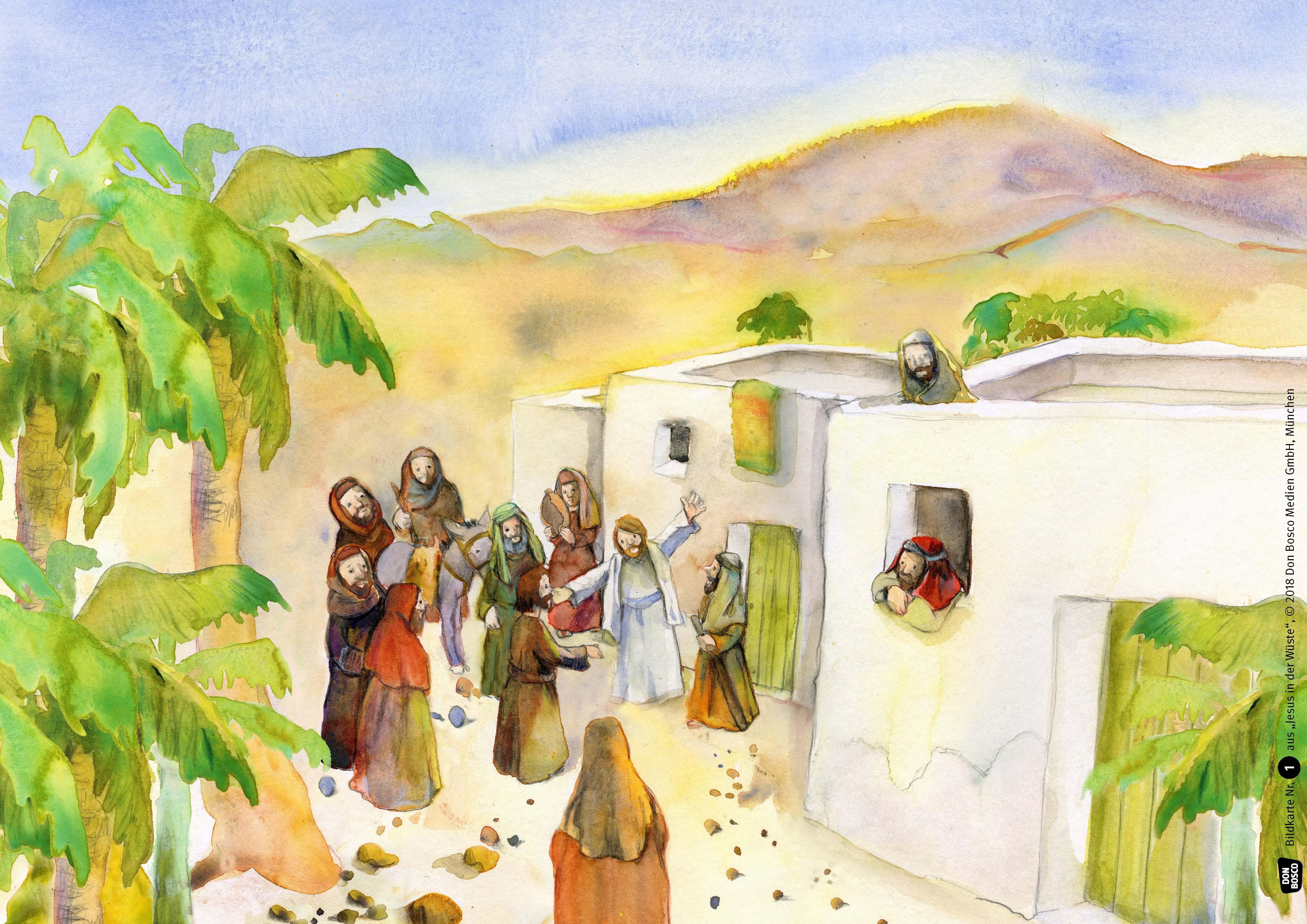 Innenansicht zu Jesus in der Wüste. eKami.