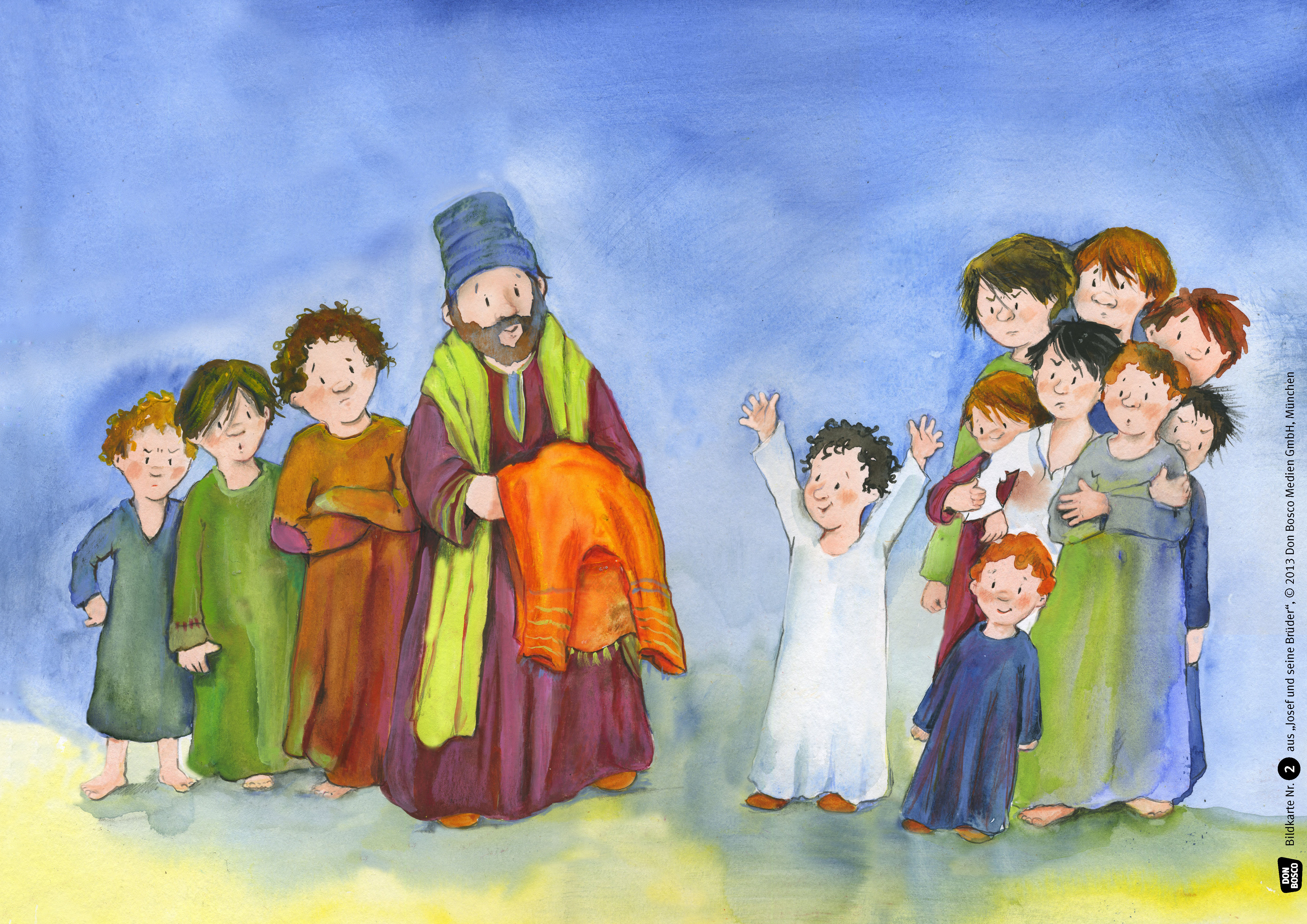 Innenansicht zu Josef und seine Brüder. eKami.