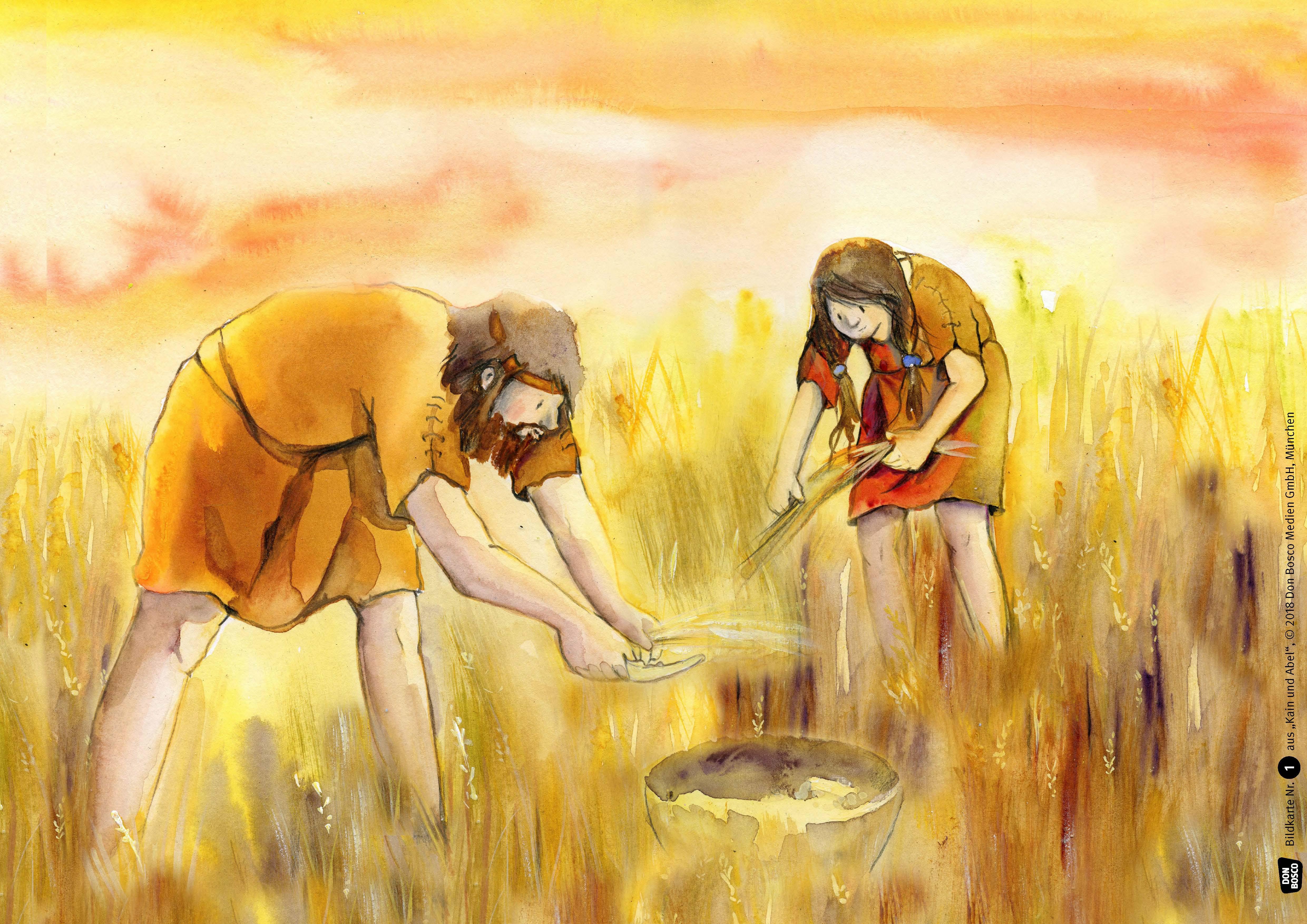 Innenansicht zu Kain und Abel. eKami.