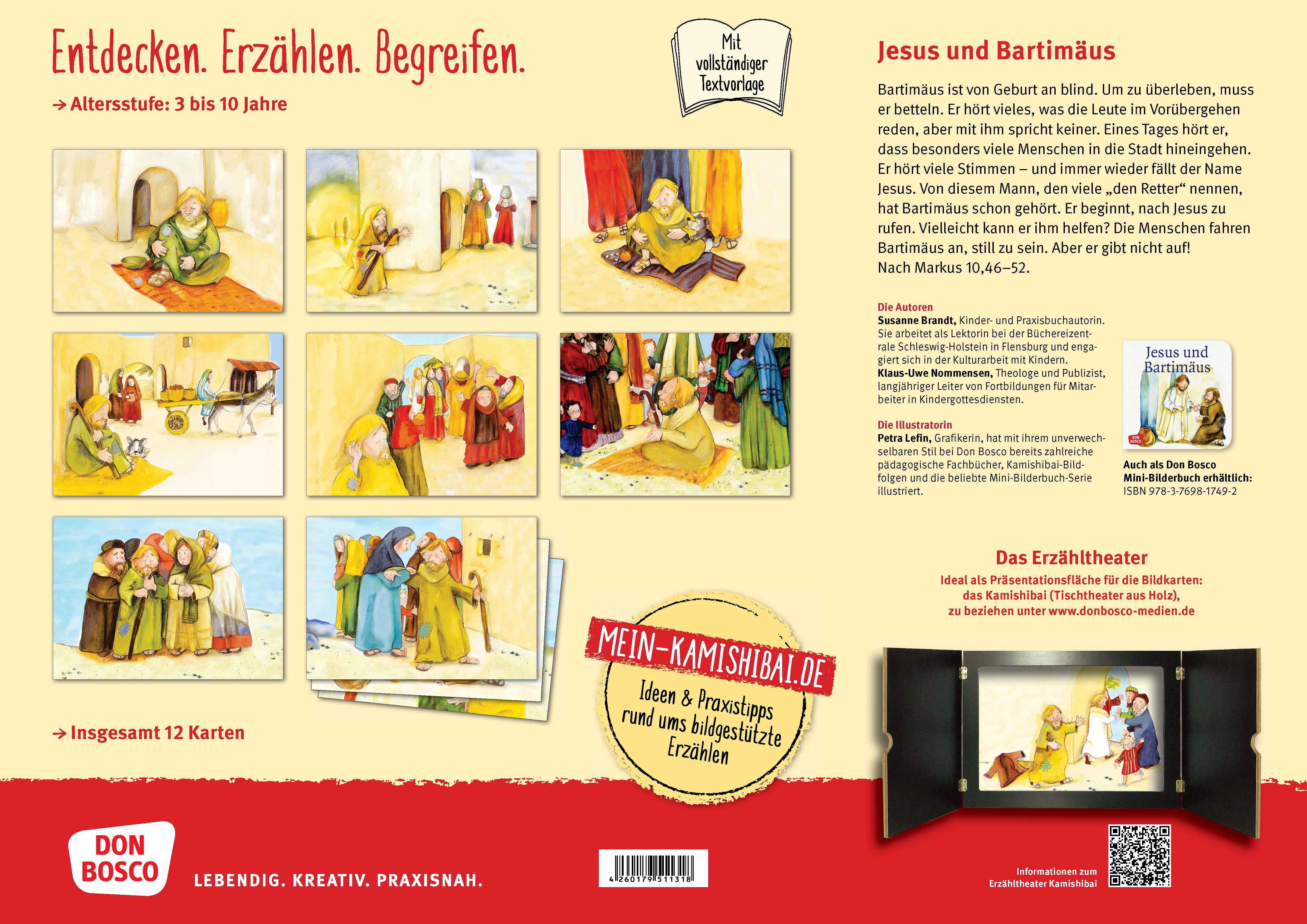 Innenansicht zu Jesus und Bartimäus. eKami.