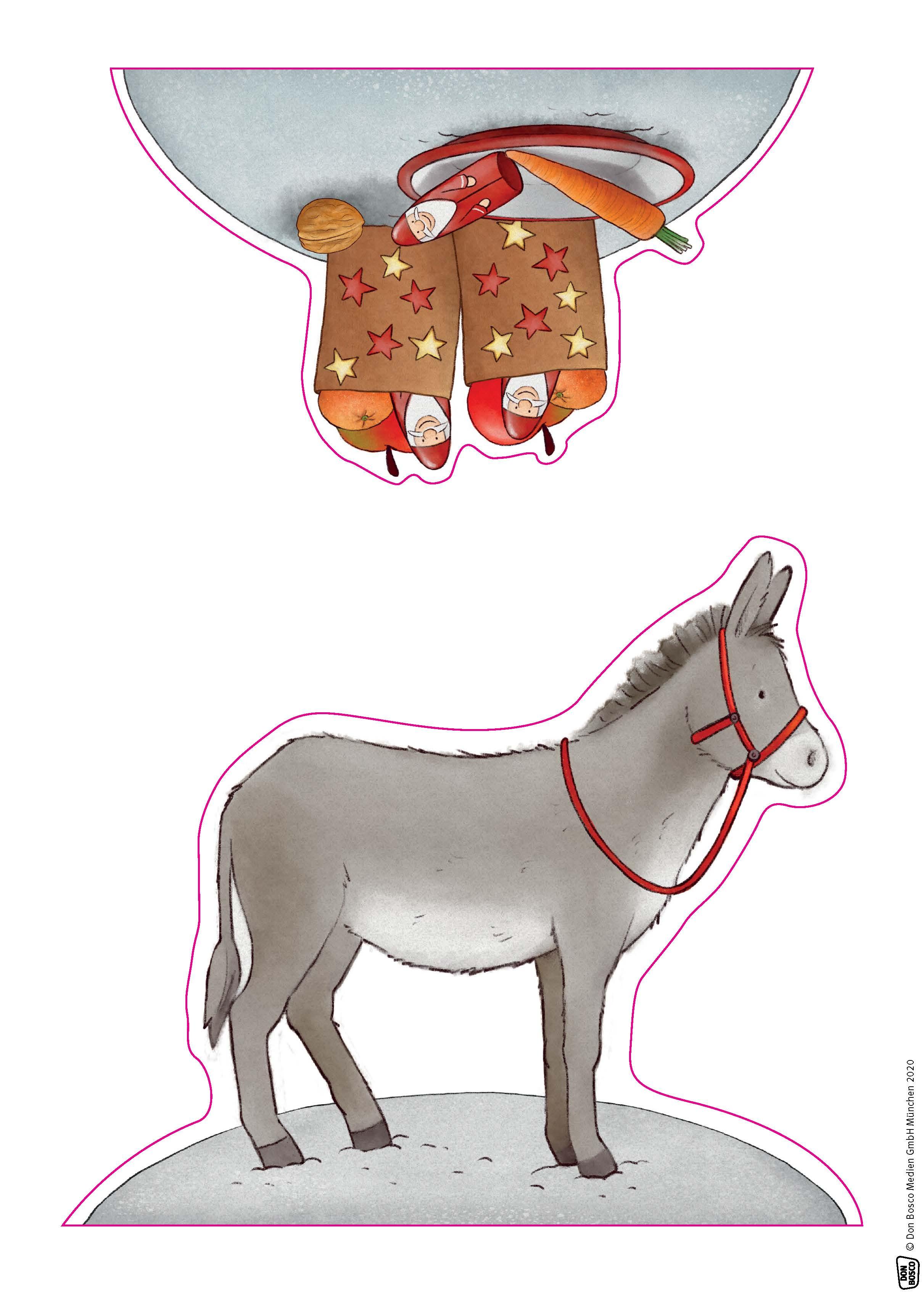 Innenansicht zu Emma und Paul feiern Nikolaus.