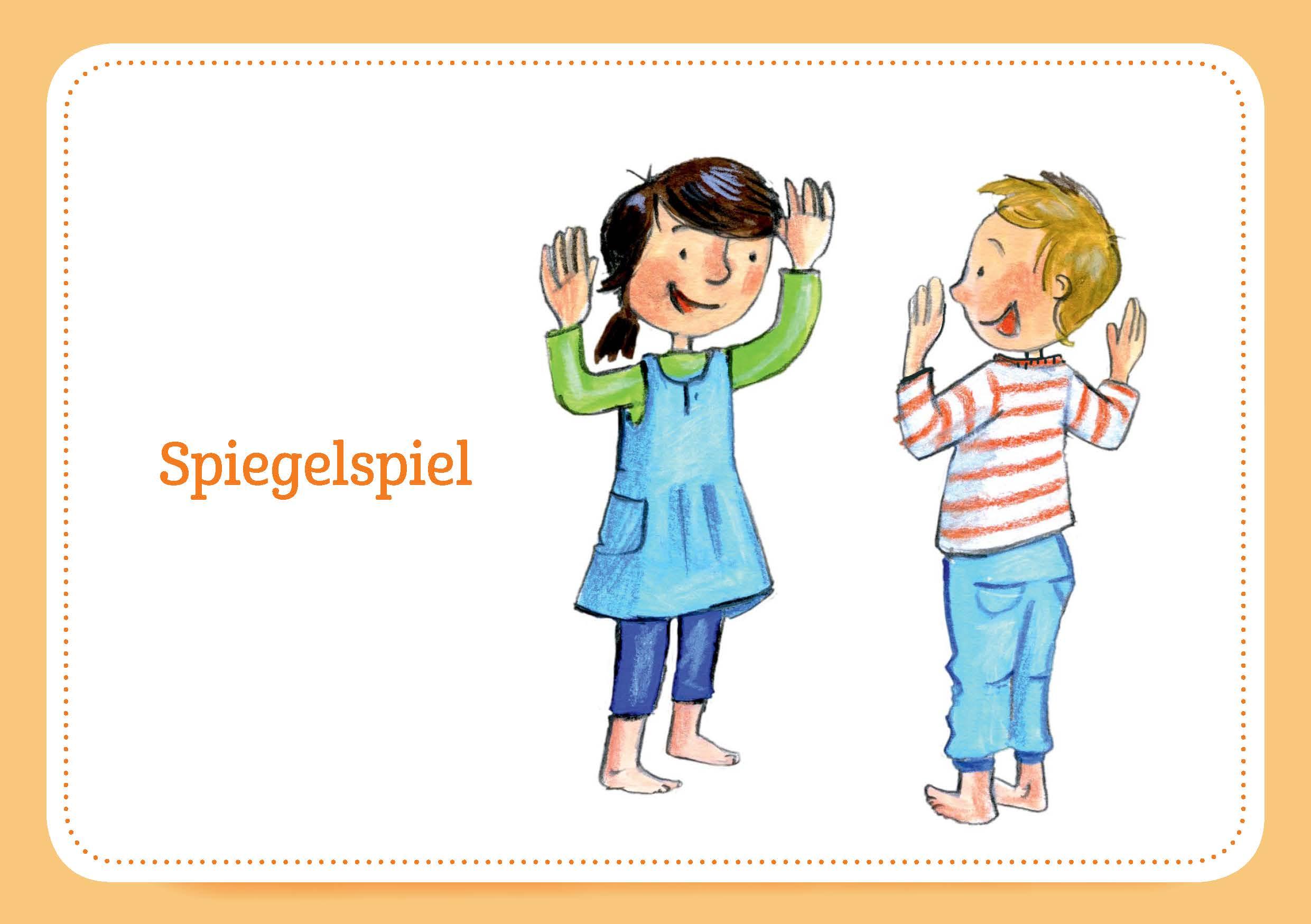 Innenansicht zu 30 Qigong-Bildkarten für Kinder