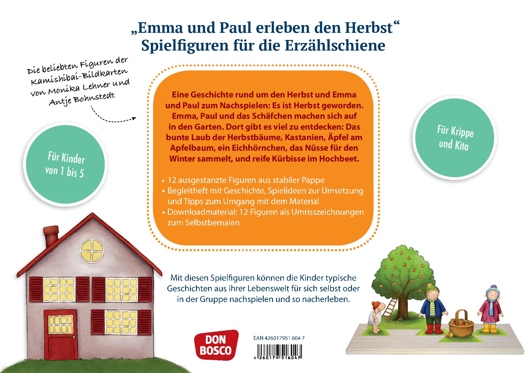 Innenansicht zu Emma und Paul erleben den Herbst.