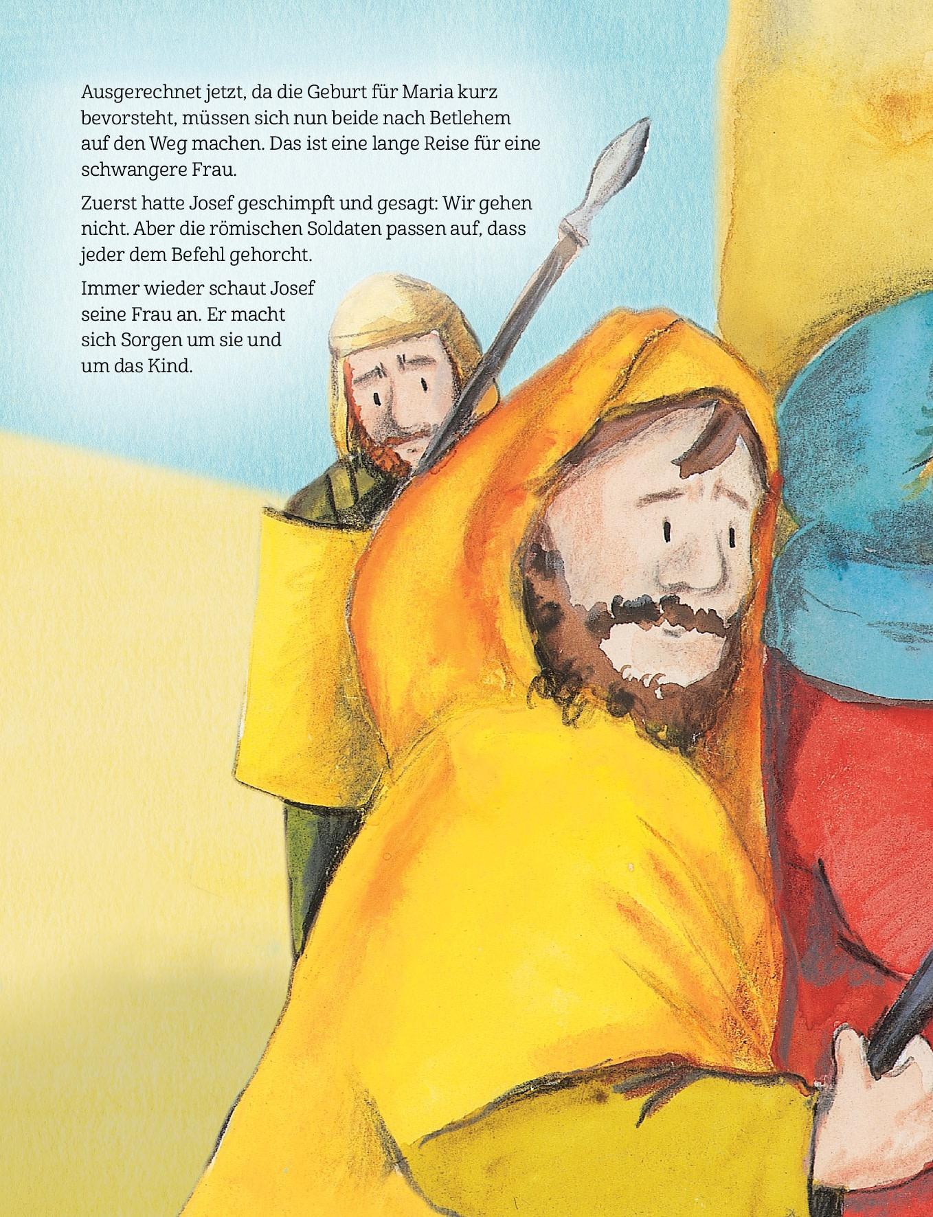 Innenansicht zu Jesus wird geboren
