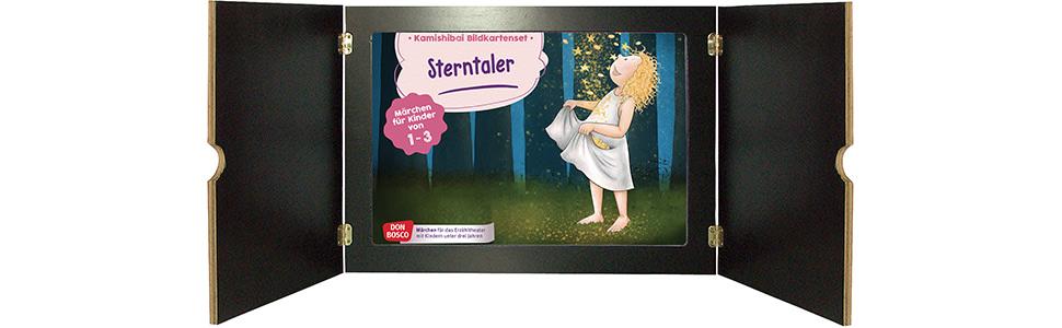 Innenansicht zu Sterntaler. Kamishibai Bildkartenset.
