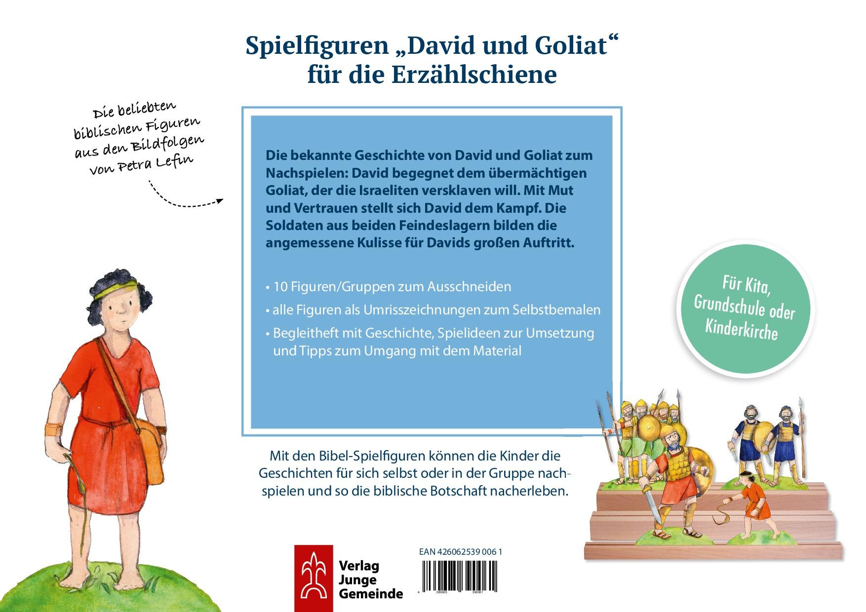 Innenansicht zu David und Goliat.