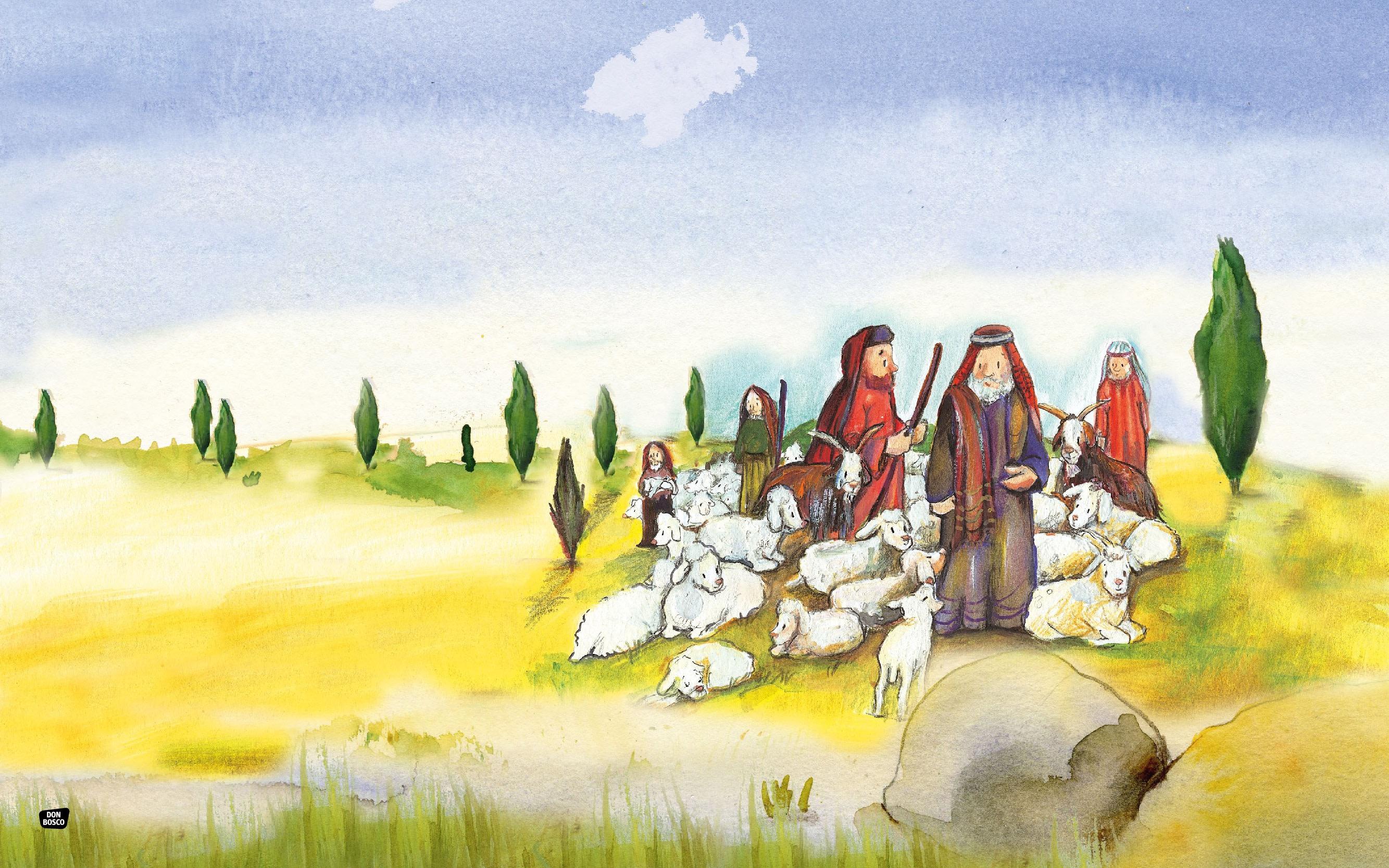 Innenansicht zu Abraham und Sara. eKami.