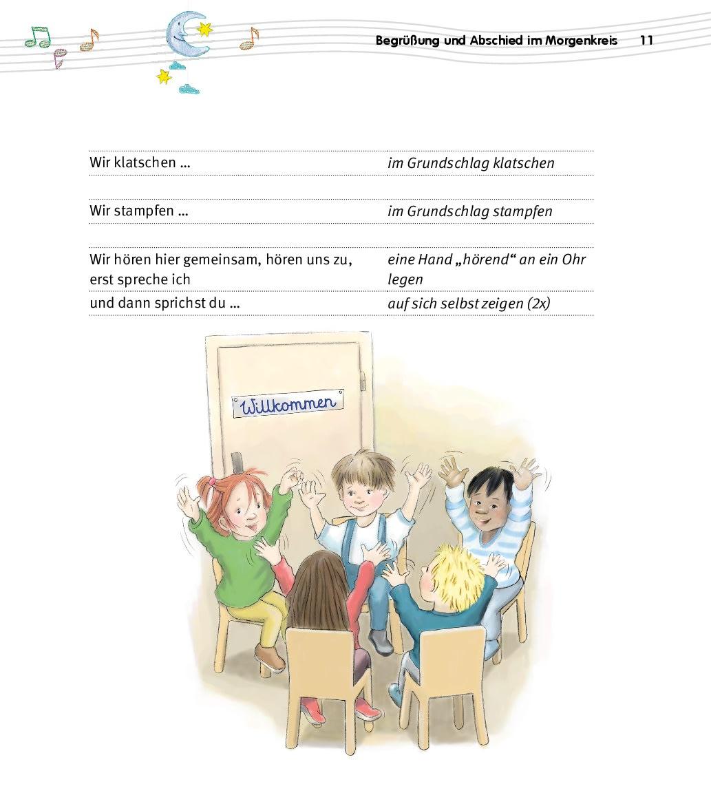 Innenansicht zu Der Krippenkinder-Morgenkreis