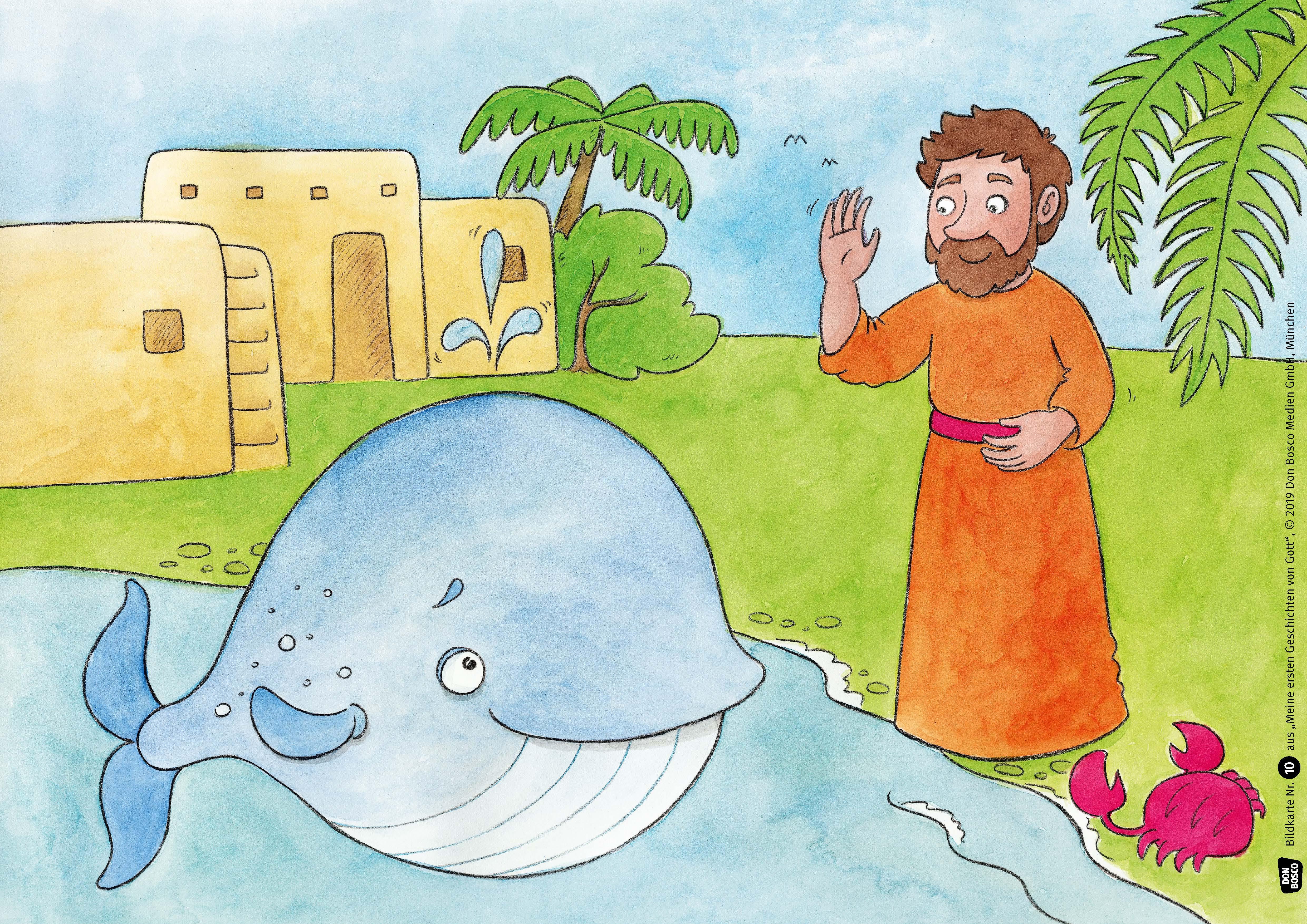 Innenansicht zu Meine ersten Geschichten von Gott. Die U3-Bibel im Kamishibai. Kamishibai Bildkartenset.