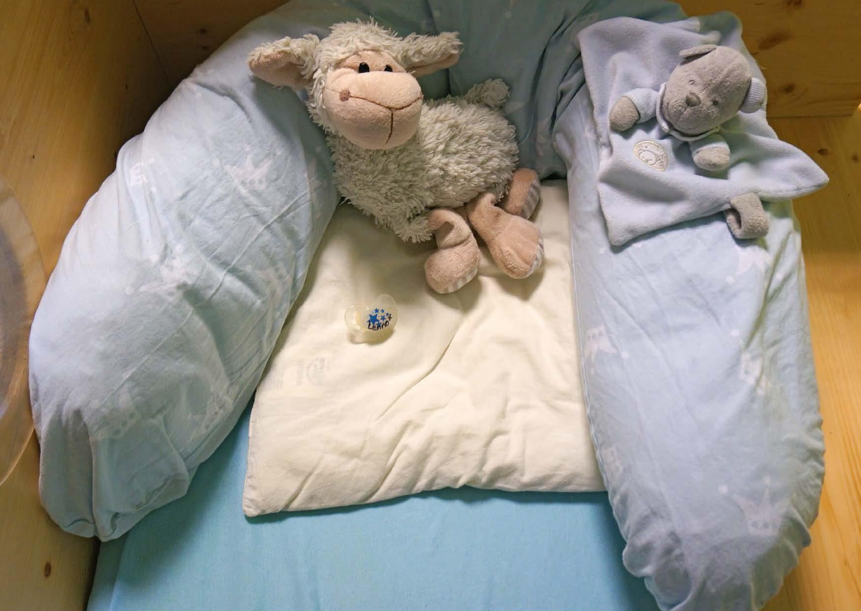 Innenansicht zu Ruhen und schlafen in der Kita
