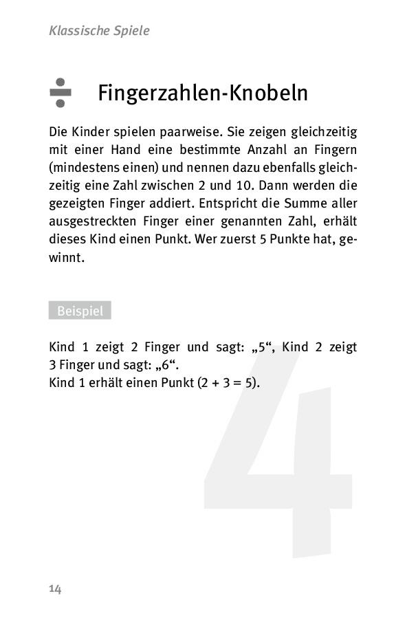 Innenansicht zu Die 50 besten Spiele für Mathe. Klasse 1-2 - eBook
