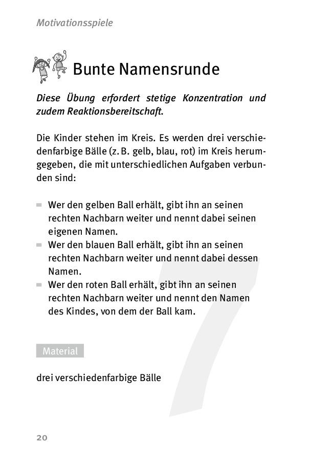 """Innenansicht zu Die 50 besten Spiele für die """"Bewegte Schule"""" - eBook"""