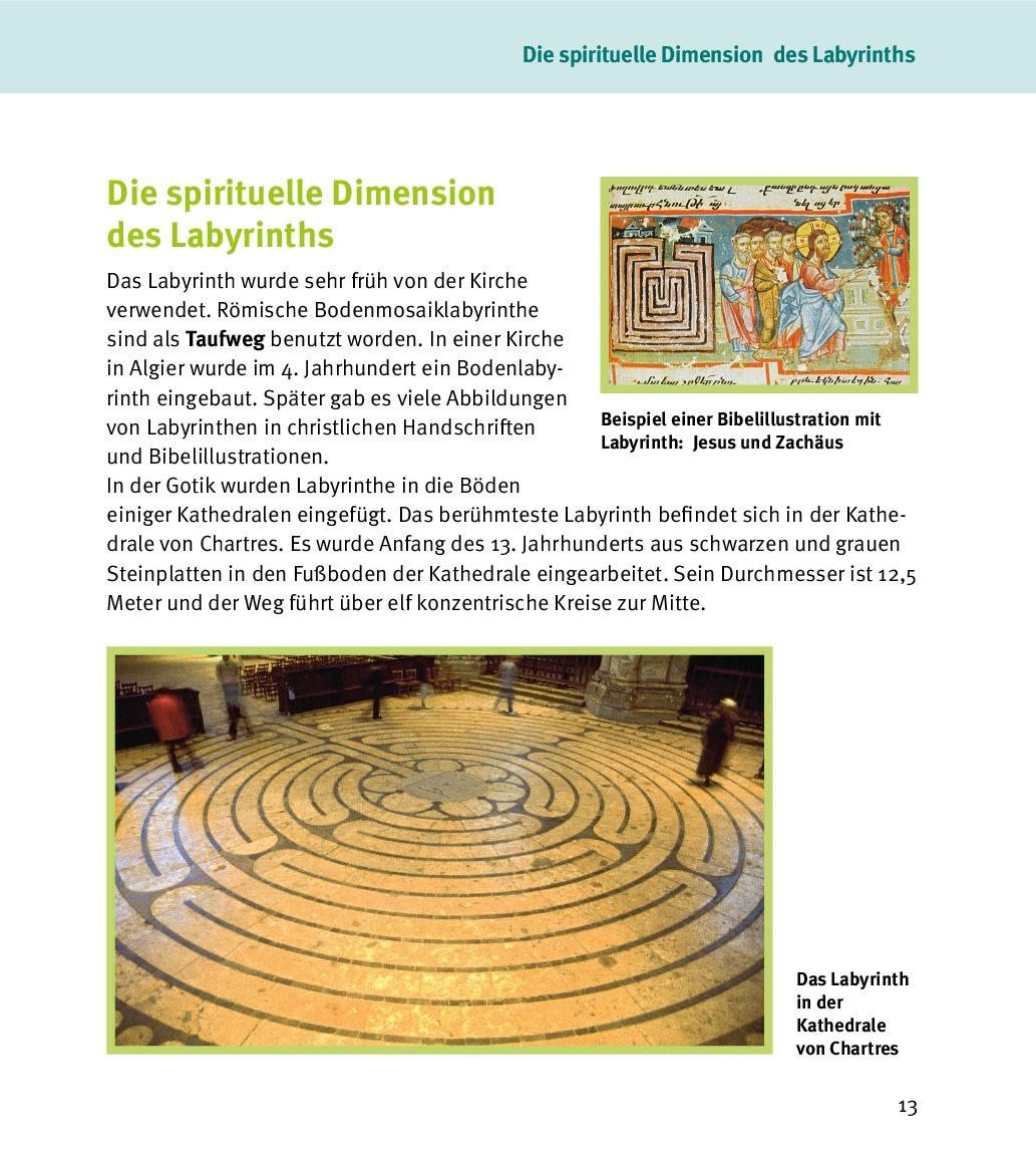 Innenansicht zu Labyrinthe mit Kindern erleben
