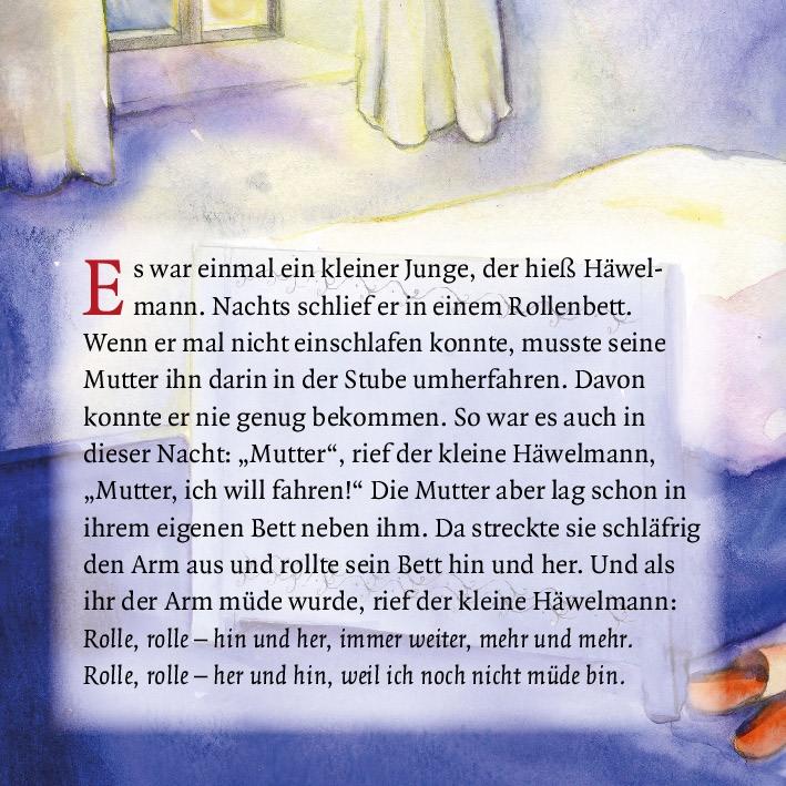 Innenansicht zu Der kleine Häwelmann. Mini-Bilderbuch.