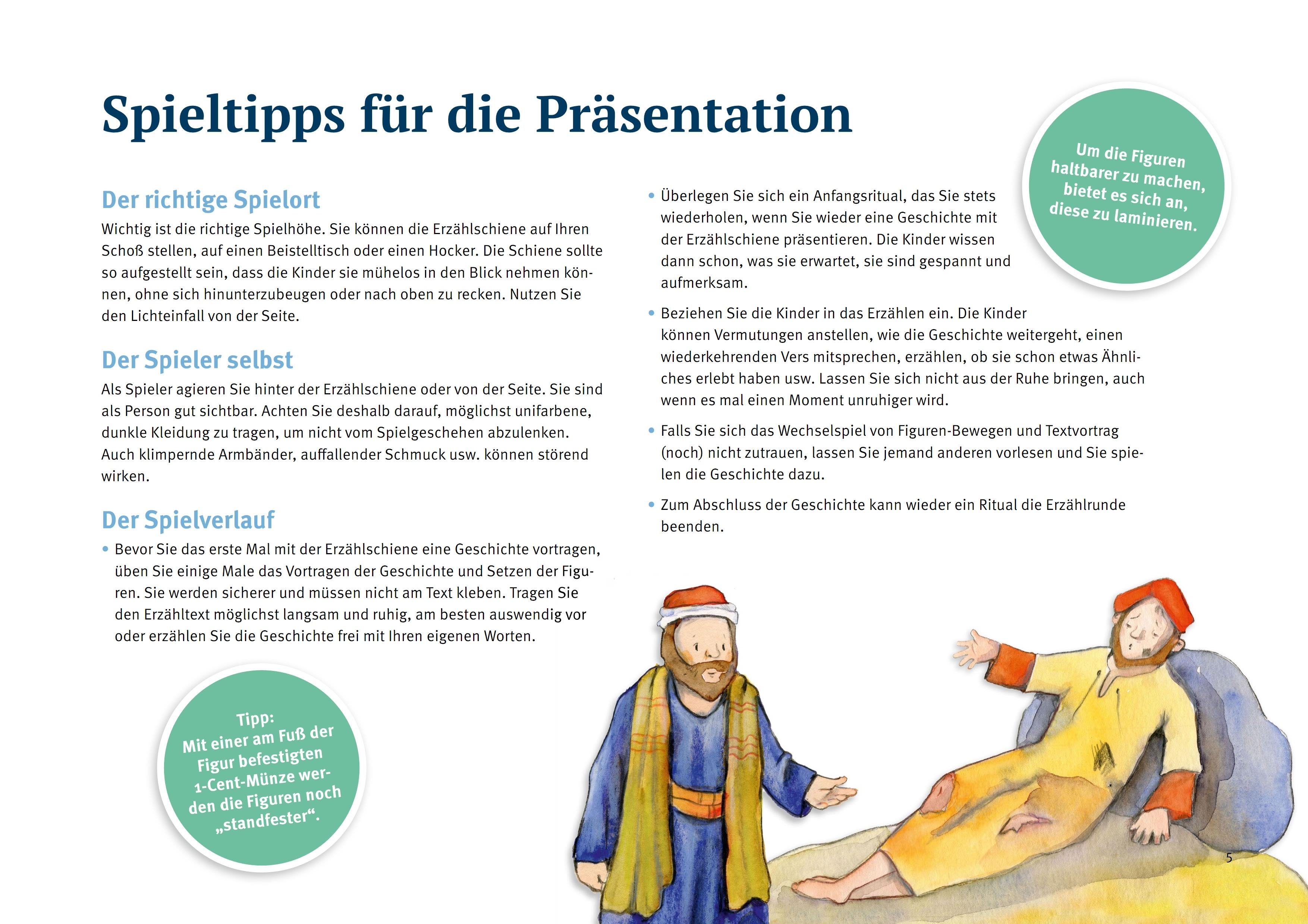Innenansicht zu Der barmherzige Samariter.