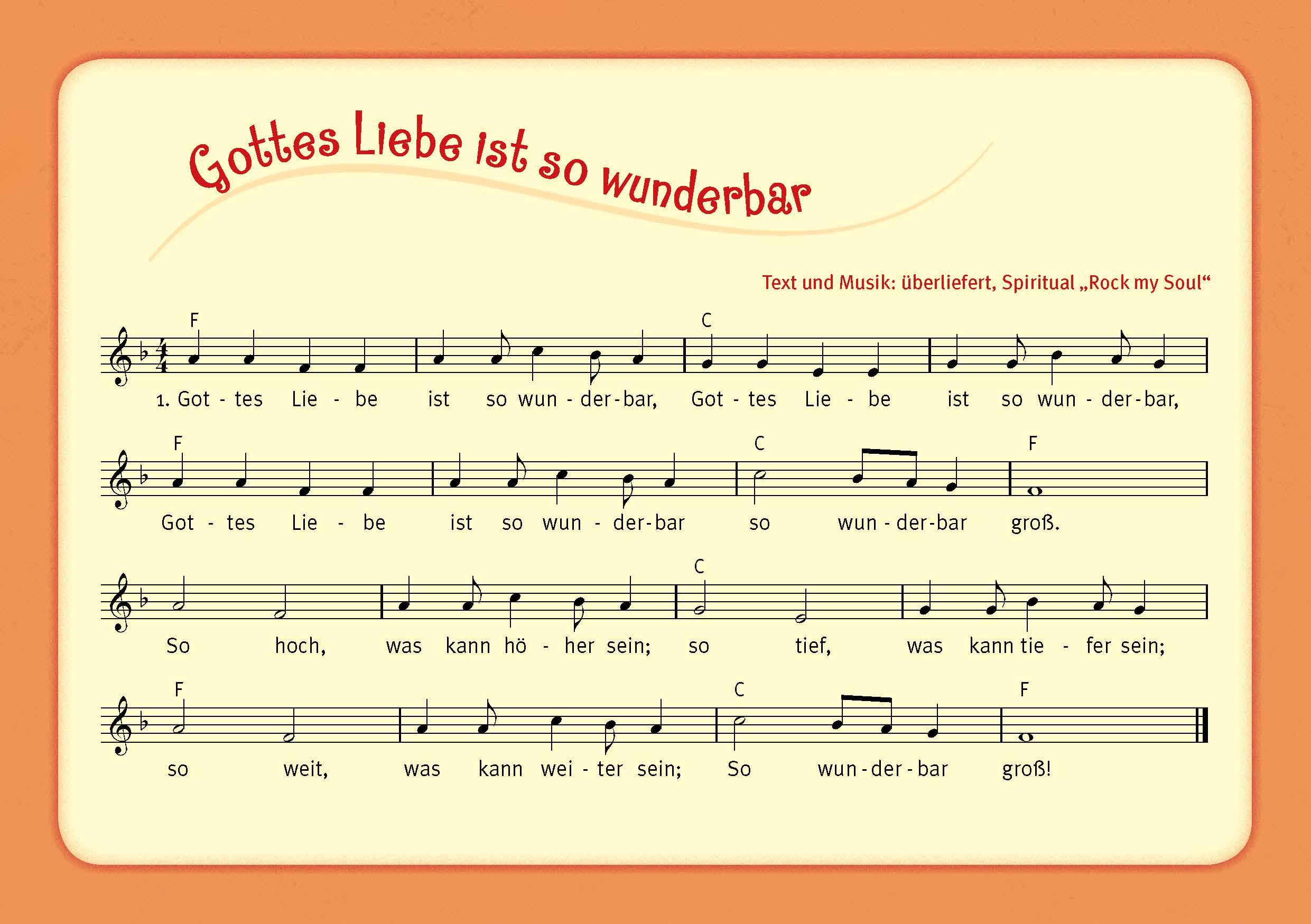 Innenansicht zu ... singen, spielen, tanzen dem Herrn!