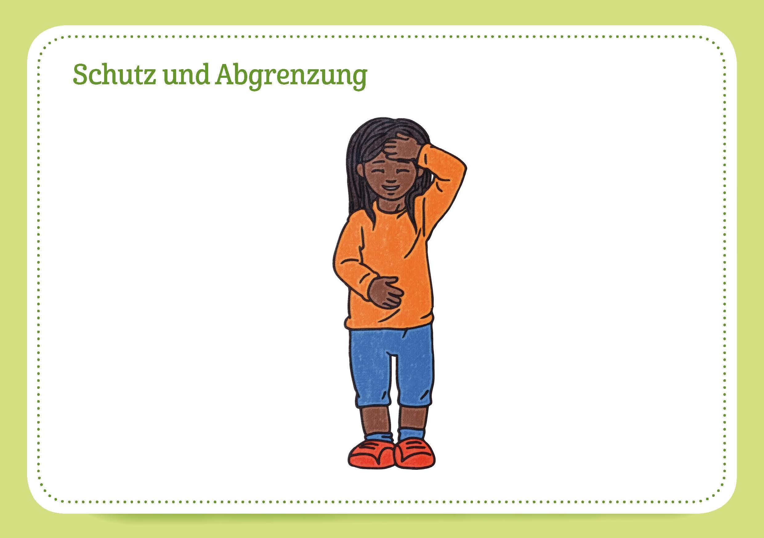 Innenansicht zu 30 Kinesiologie-Bildkarten für Kinder