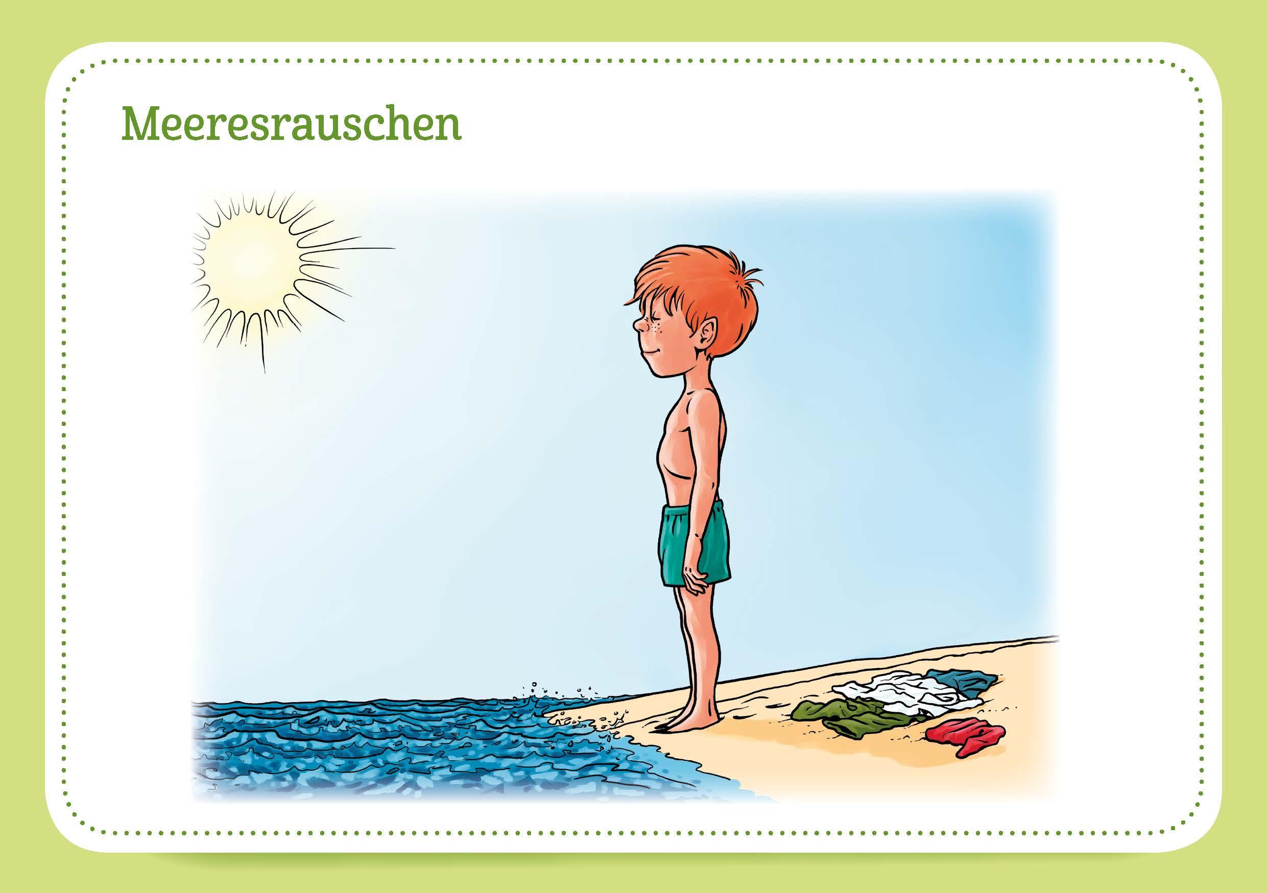 Innenansicht zu 30 Pilates-Bildkarten für Kinder