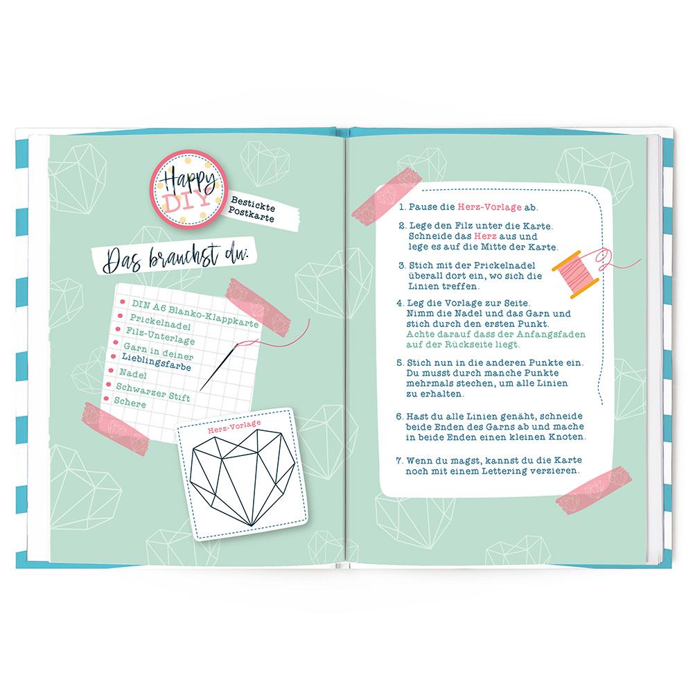 Innenansicht zu Mein kreatives Happy-Buch