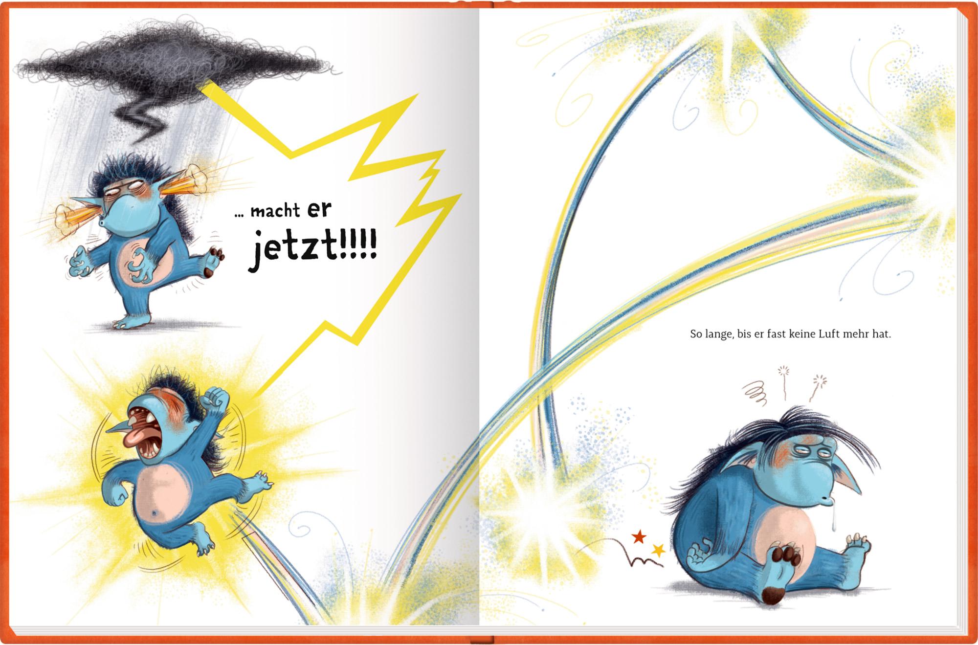 Innenansicht zu Der Grolltroll ... grollt heut nicht!? (Bd. 2)