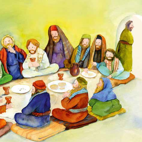 Innenansicht zu Der Kreuzweg Jesu. Mini-Bilderbuch. Paket mit 50 Exemplaren zum Vorteilspreis