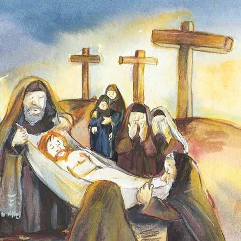 Innenansicht zu Jesus ist auferstanden. Mini-Bilderbuch. Paket mit 50 Exemplaren zum Vorteilspreis