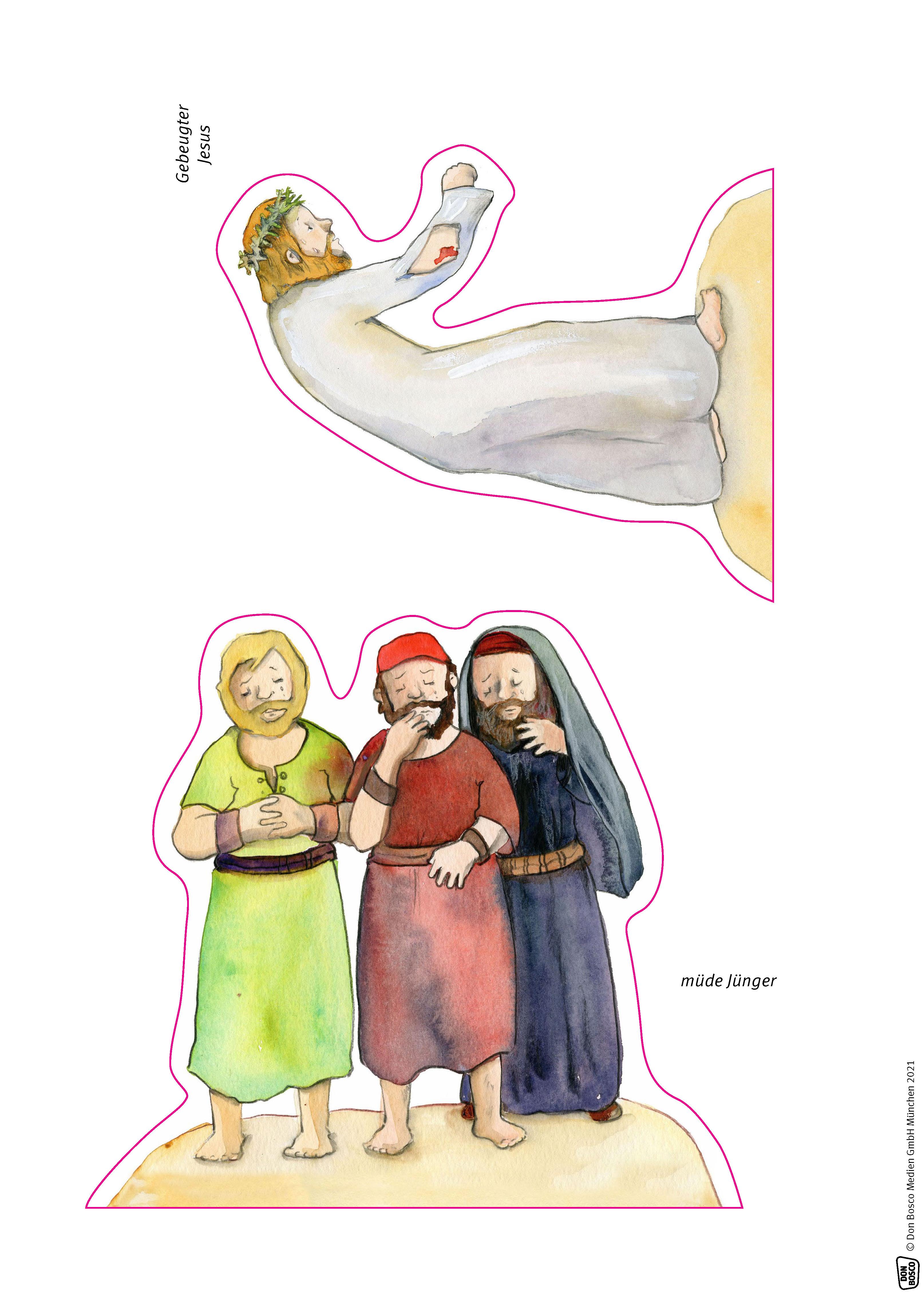 Innenansicht zu Der Kreuzweg Jesu.