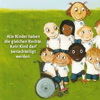 Innenansicht zu Wir haben Rechte! Mini-Bilderbuch.