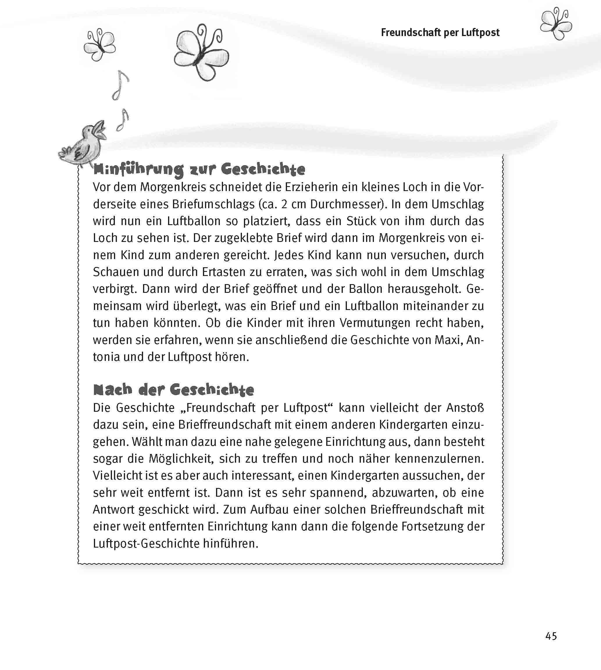 Innenansicht zu Im Morgenkreis Frühling und Ostern erleben, m. Audio-CD