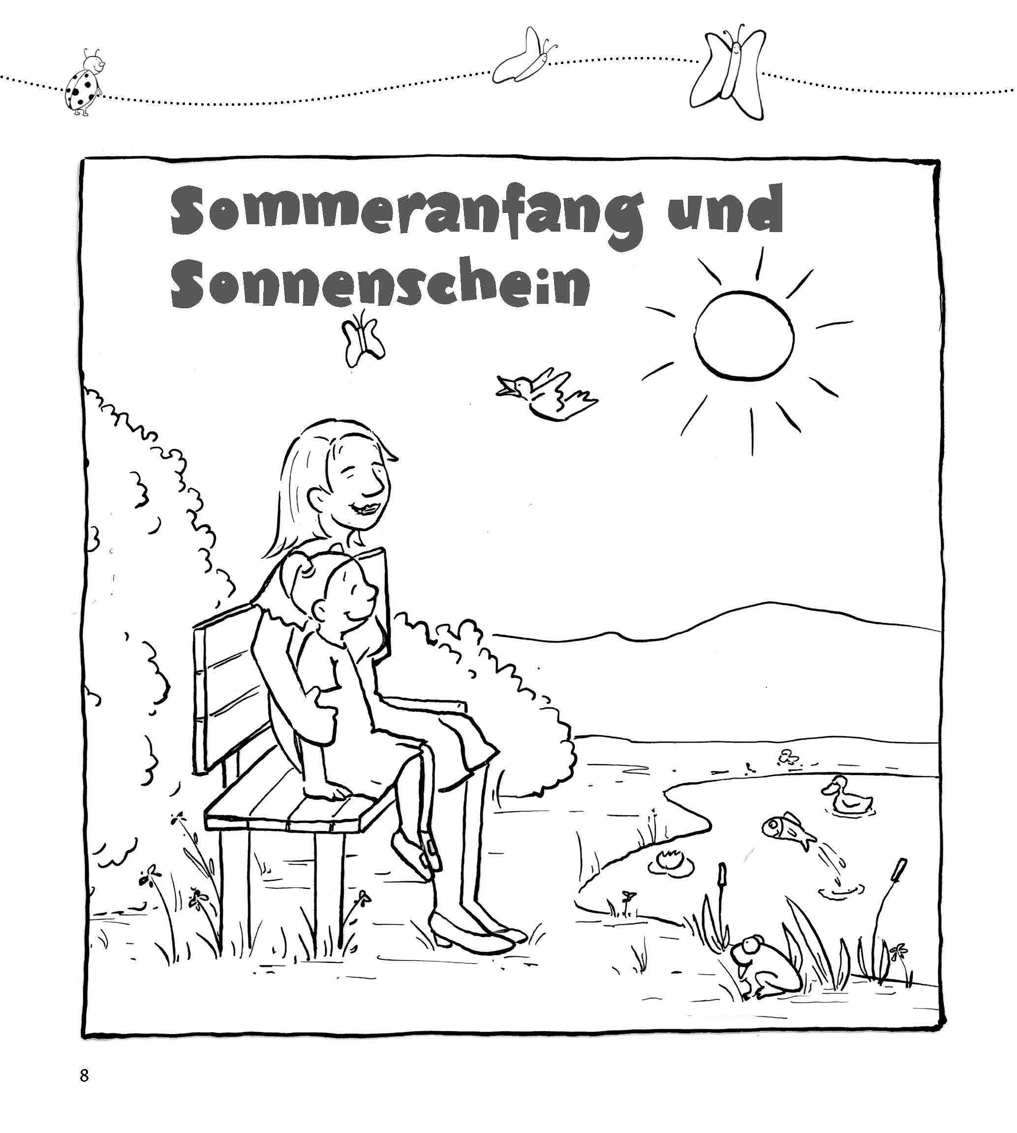 Innenansicht zu Im Morgenkreis Sommer und Sonne begrüßen, m. Audio-CD