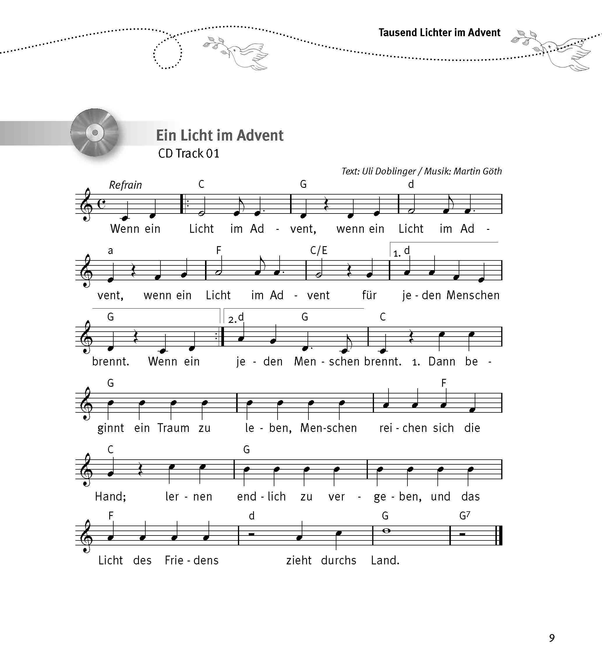Innenansicht zu Im Morgenkreis das Kirchenjahr erleben, m. Audio-CD