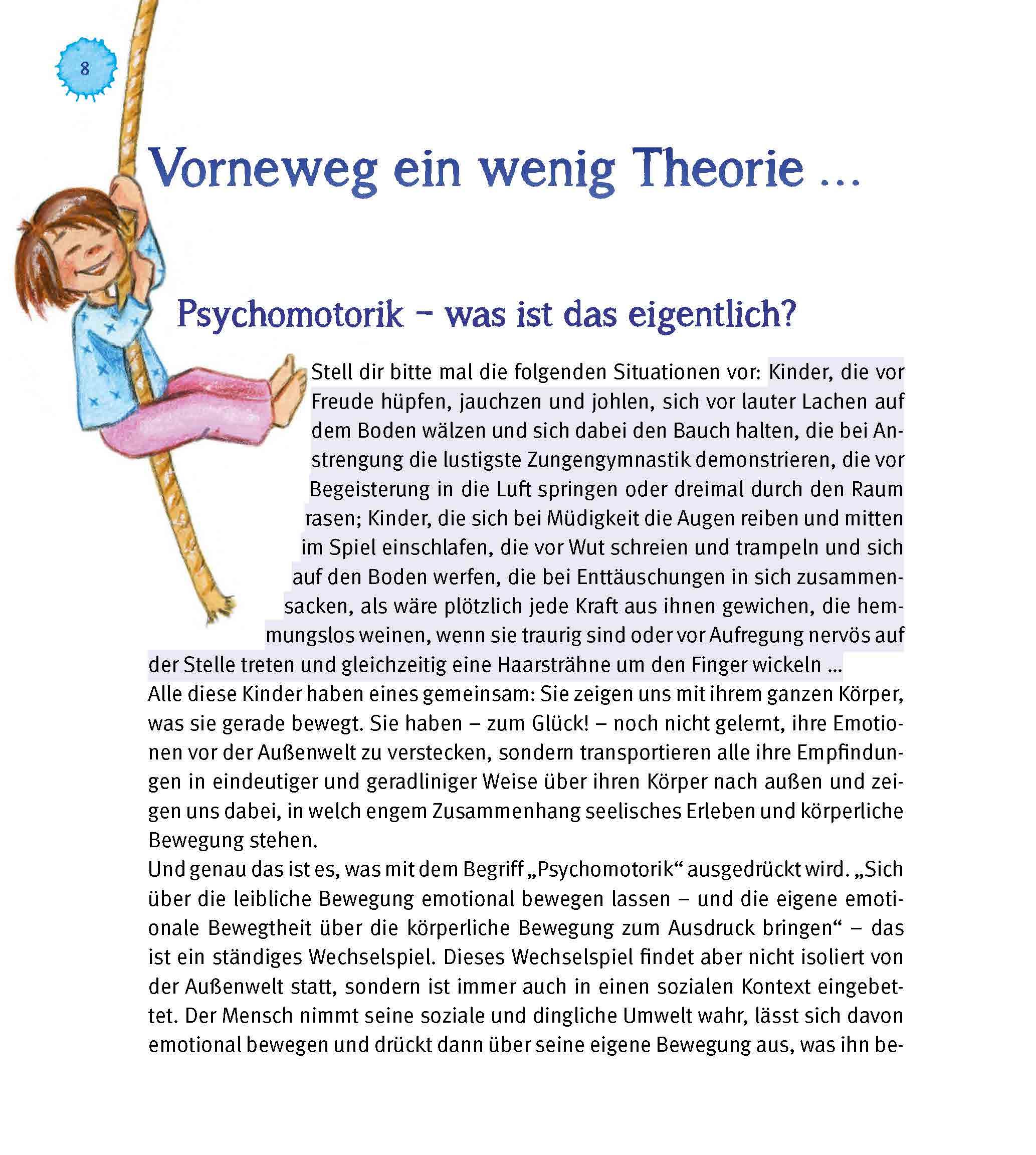 Innenansicht zu Psychomotorik. Spiel, Spaß und Bewegung im Kindergarten